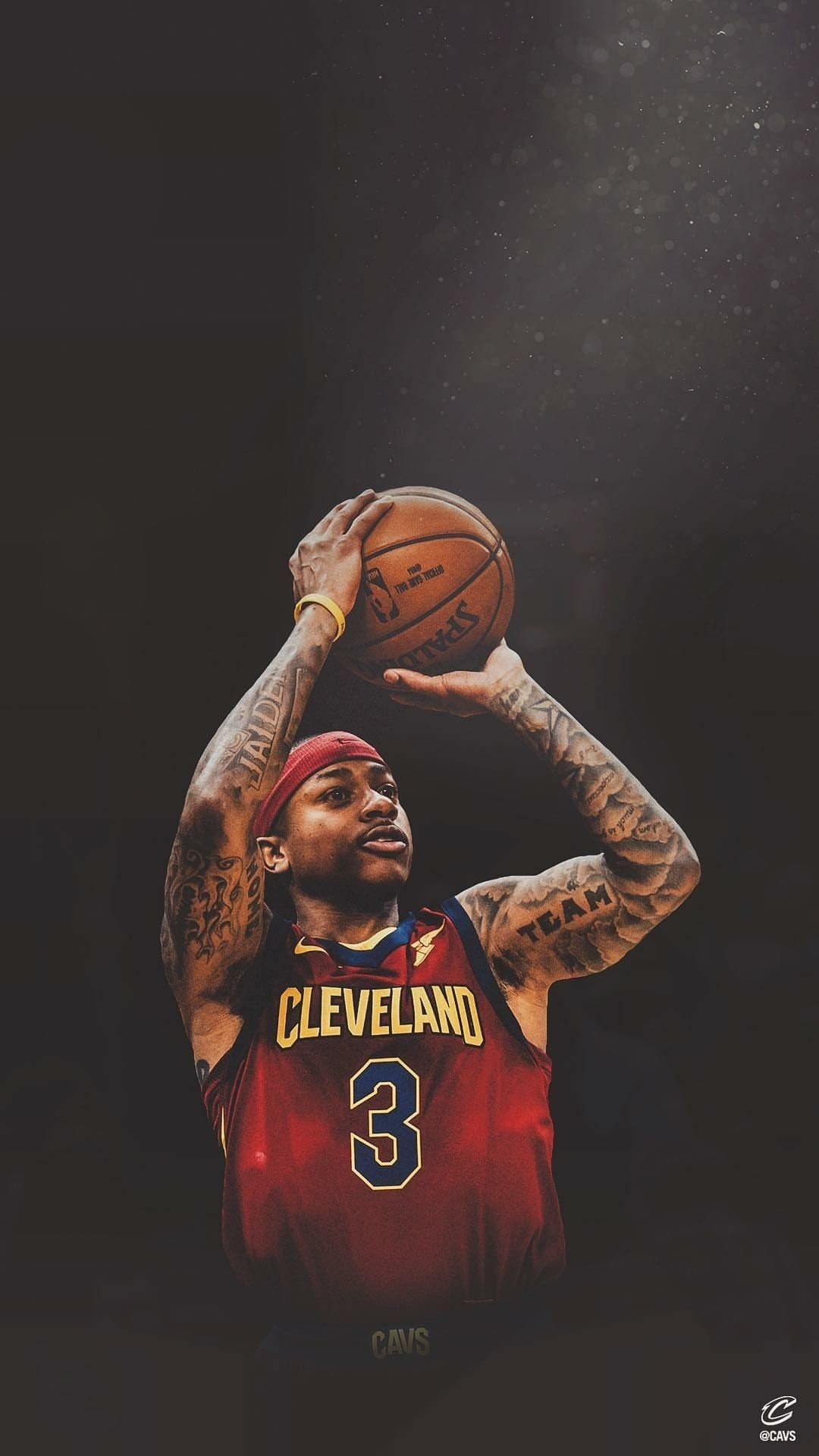 Res: 1080x1920, Isaiah Thomas Cleveland Cavaliers WALLPAPER
