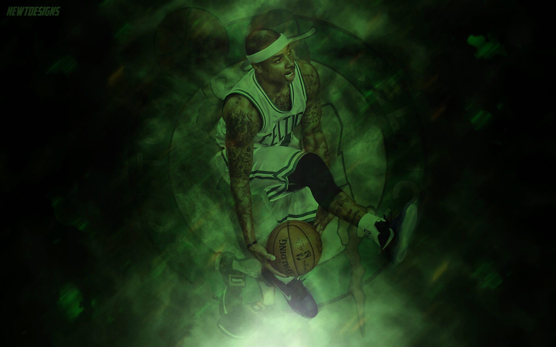 Res: 1920x1200, Isaiah Thomas Dunk In Game Celtics - Best Wallpaper HD