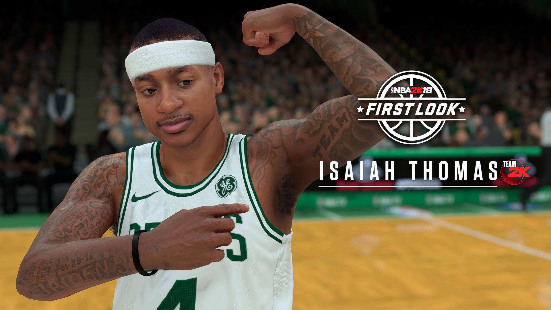 Res: 1920x1080, NBA 2K18: Isaiah Thomas First Look