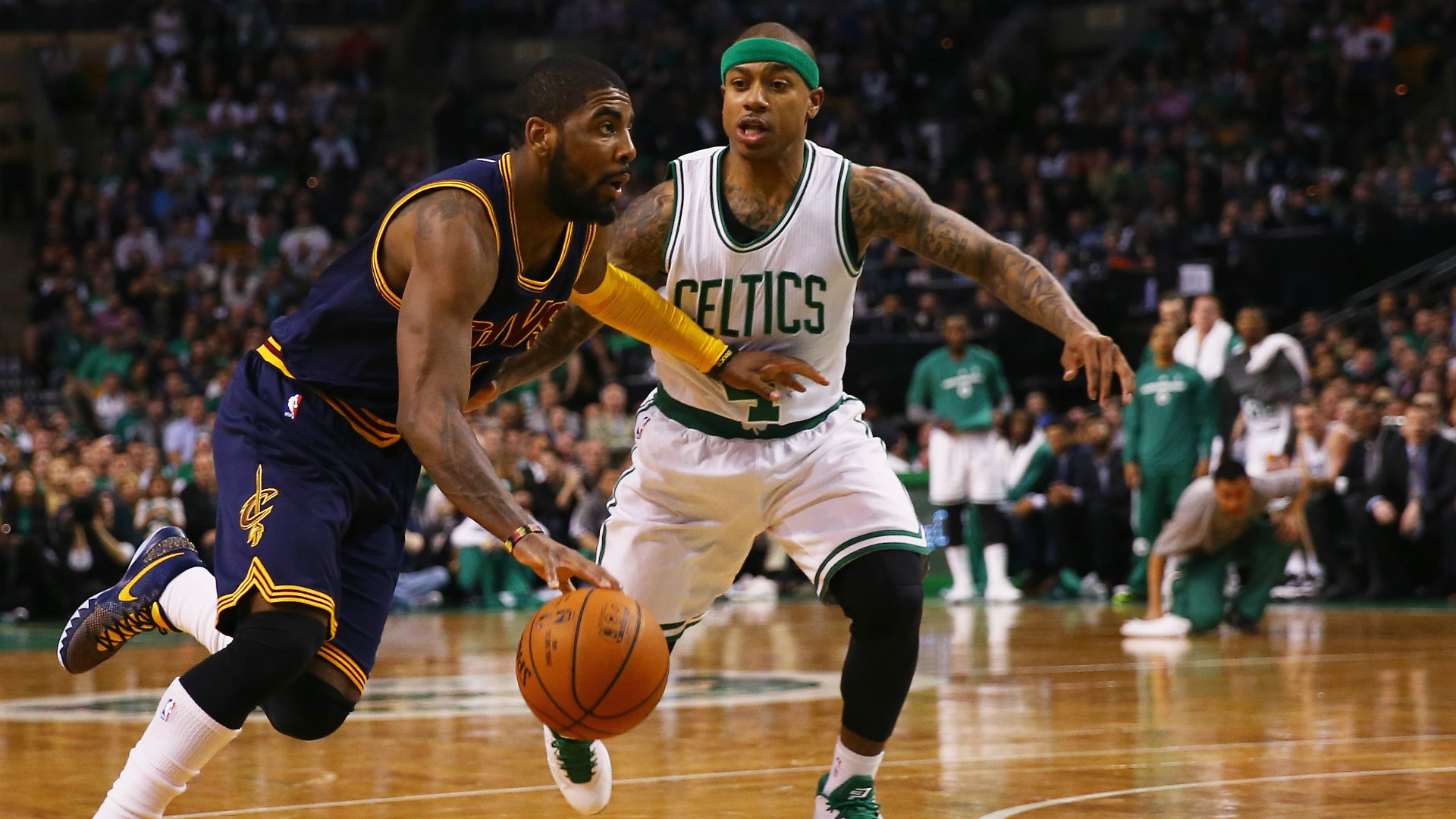 Res: 1920x1080, Report: Kyrie Irving trade could be voided by Isaiah Thomas' injury | NBA |  Sporting News