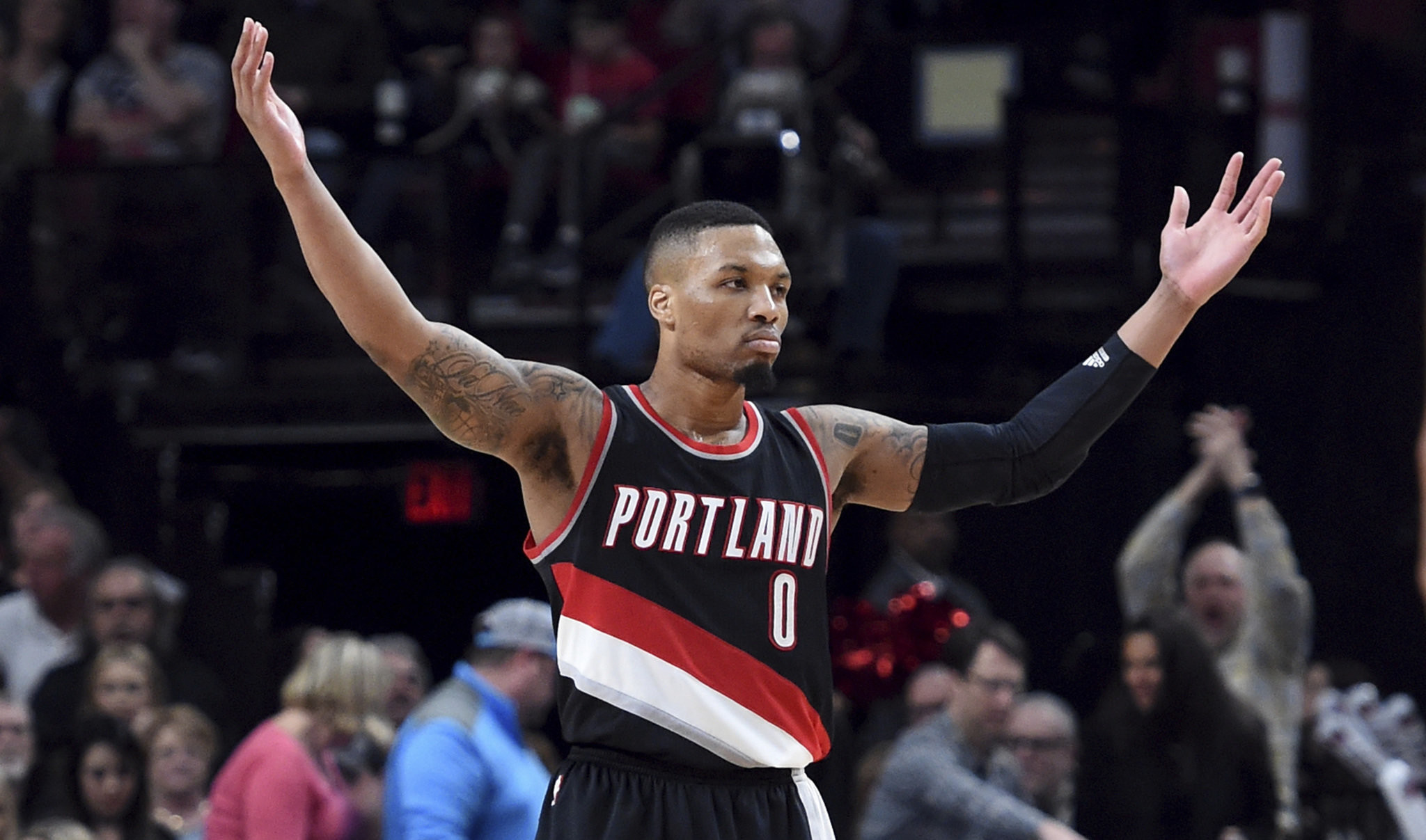 Res: 2048x1207, Damian Lillard predicts 'Blazers in six' against the Golden State Warriors  | OregonLive.com