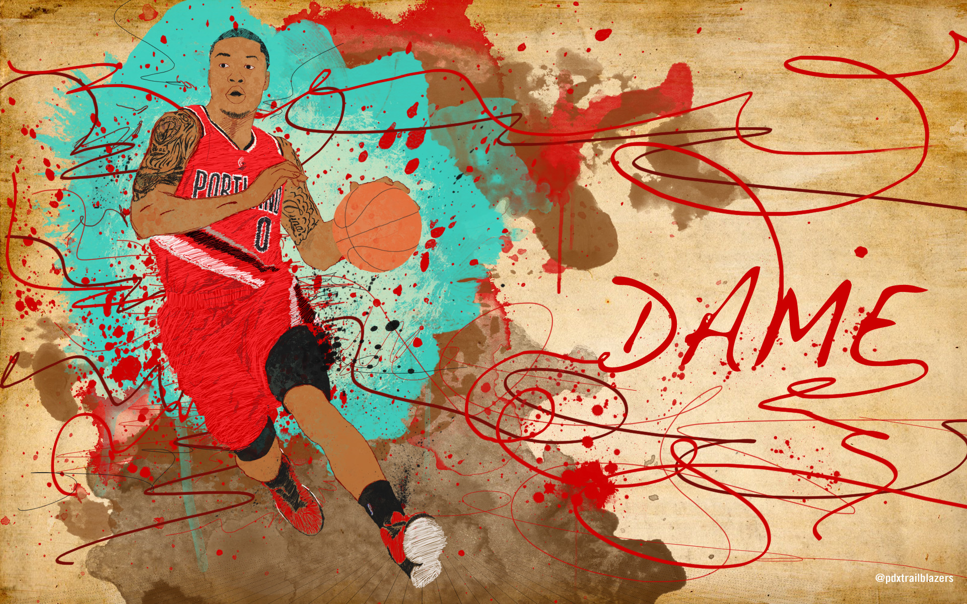 Res: 1920x1200, damian lillard iphone wallpapers download