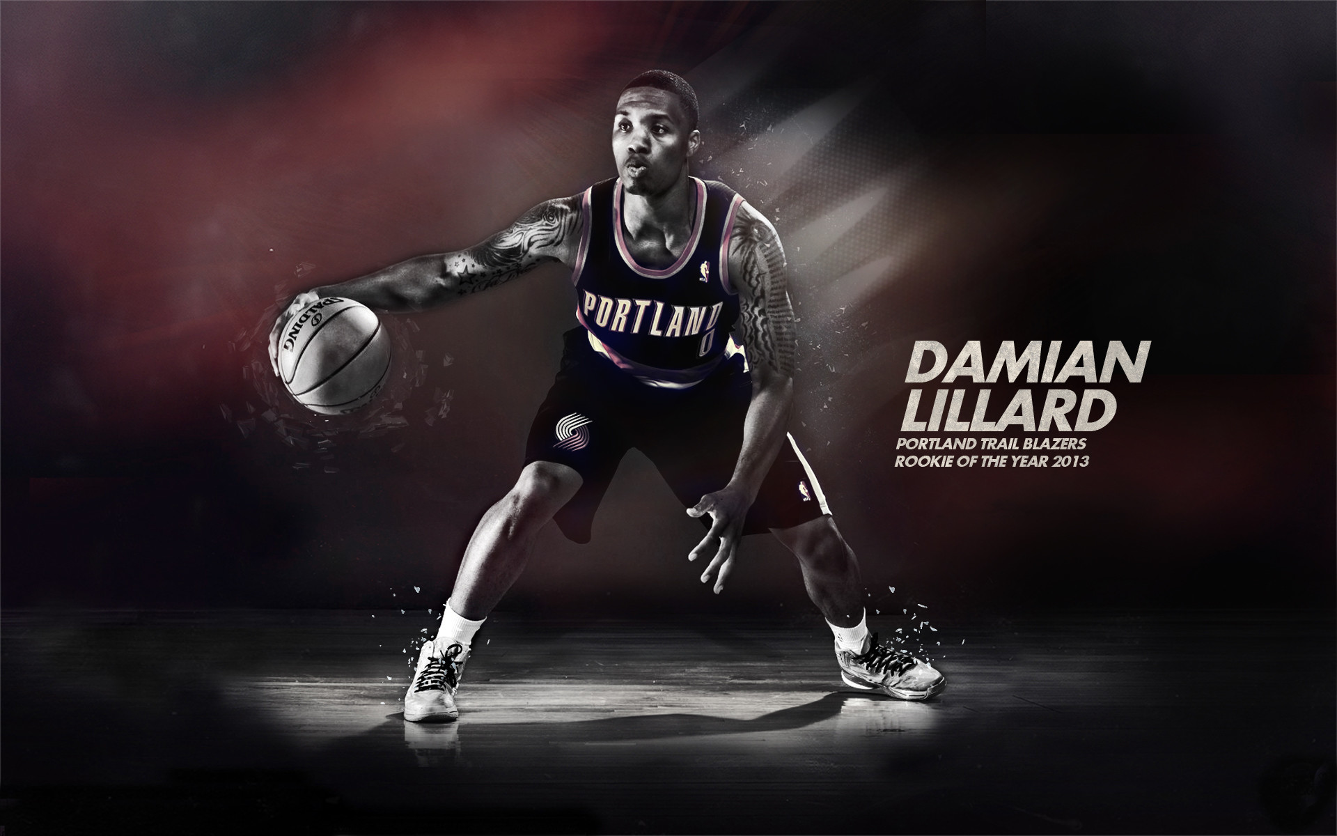 Res: 1920x1200, Year.2013 by 31ANDONLY Damian.Lillard.Rookie.of.the.Year.2013 by 31ANDONLY