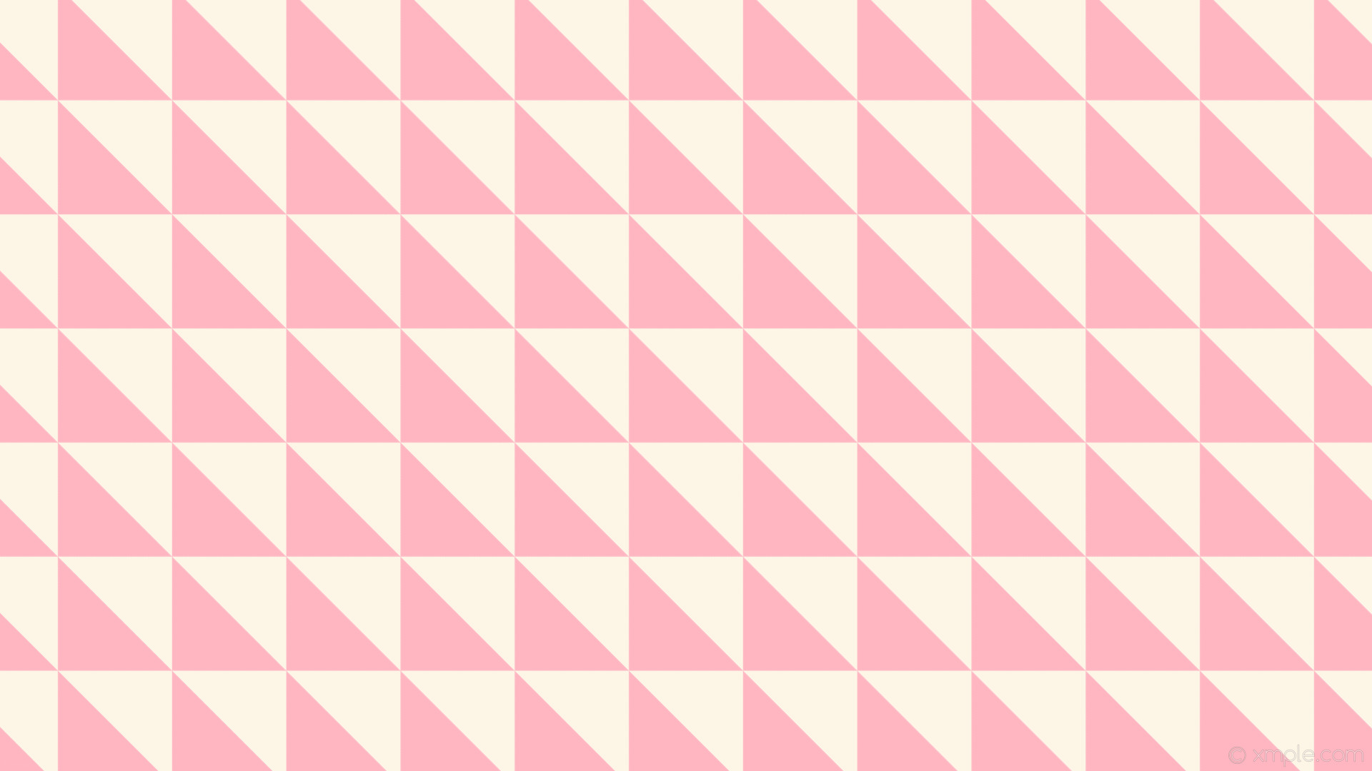 Res: 1920x1080, wallpaper pink white triangle old lace light pink #fdf5e6 #ffb6c1 135°  226px 226px