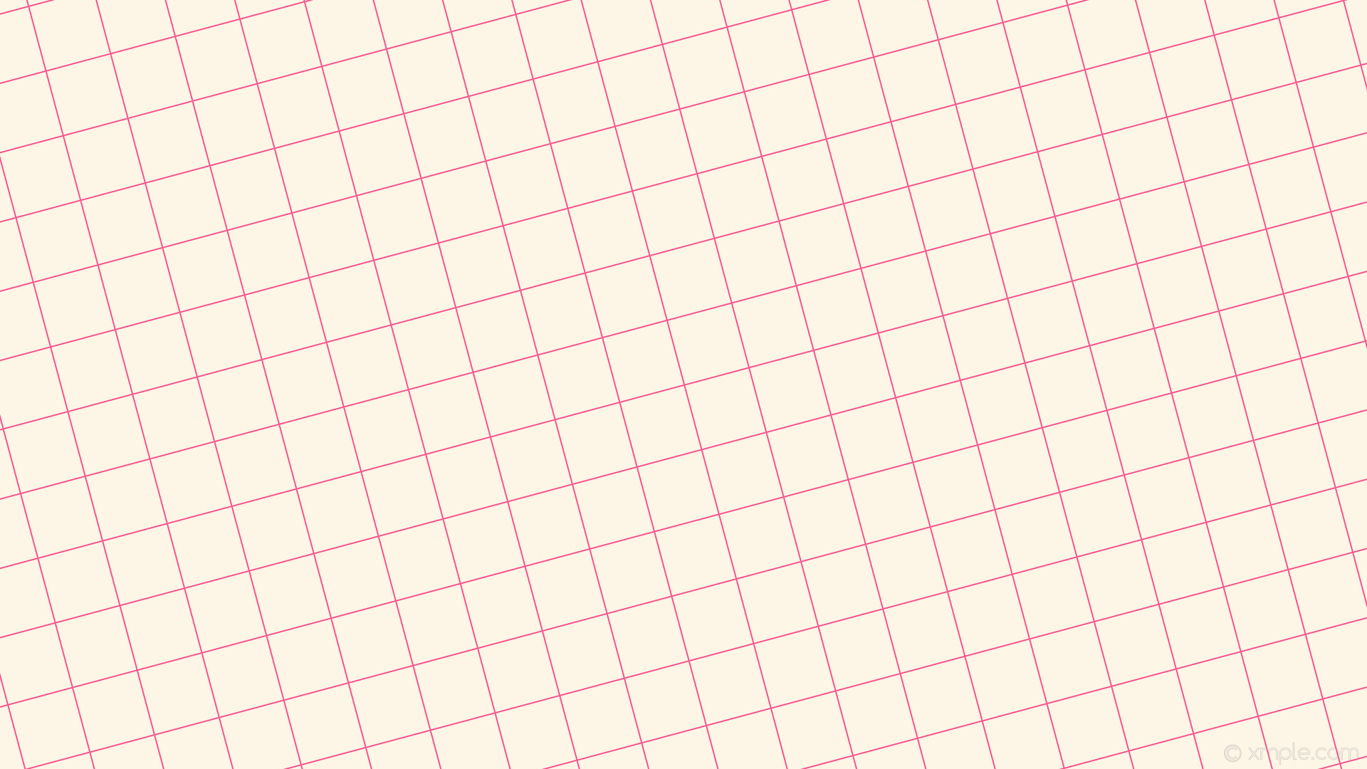 Res: 1920x1080, wallpaper graph paper white grid pink old lace #fdf5e6 #f61b6e 15° 2px 94px