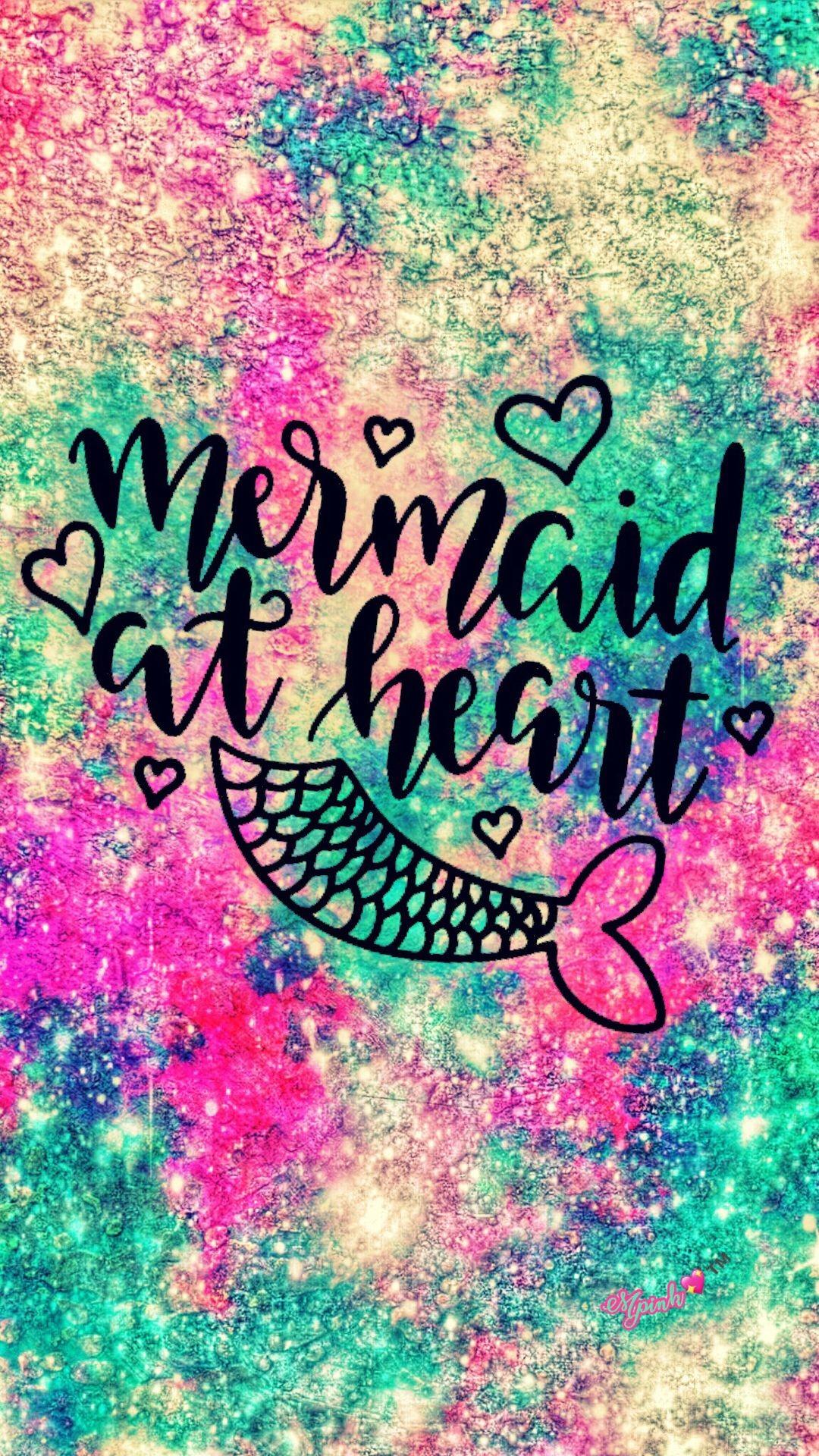 Res: 1080x1920, Mermaid At Heart Galaxy Wallpaper #androidwallpaper #iphonewallpaper # wallpaper #galaxy #sparkle #