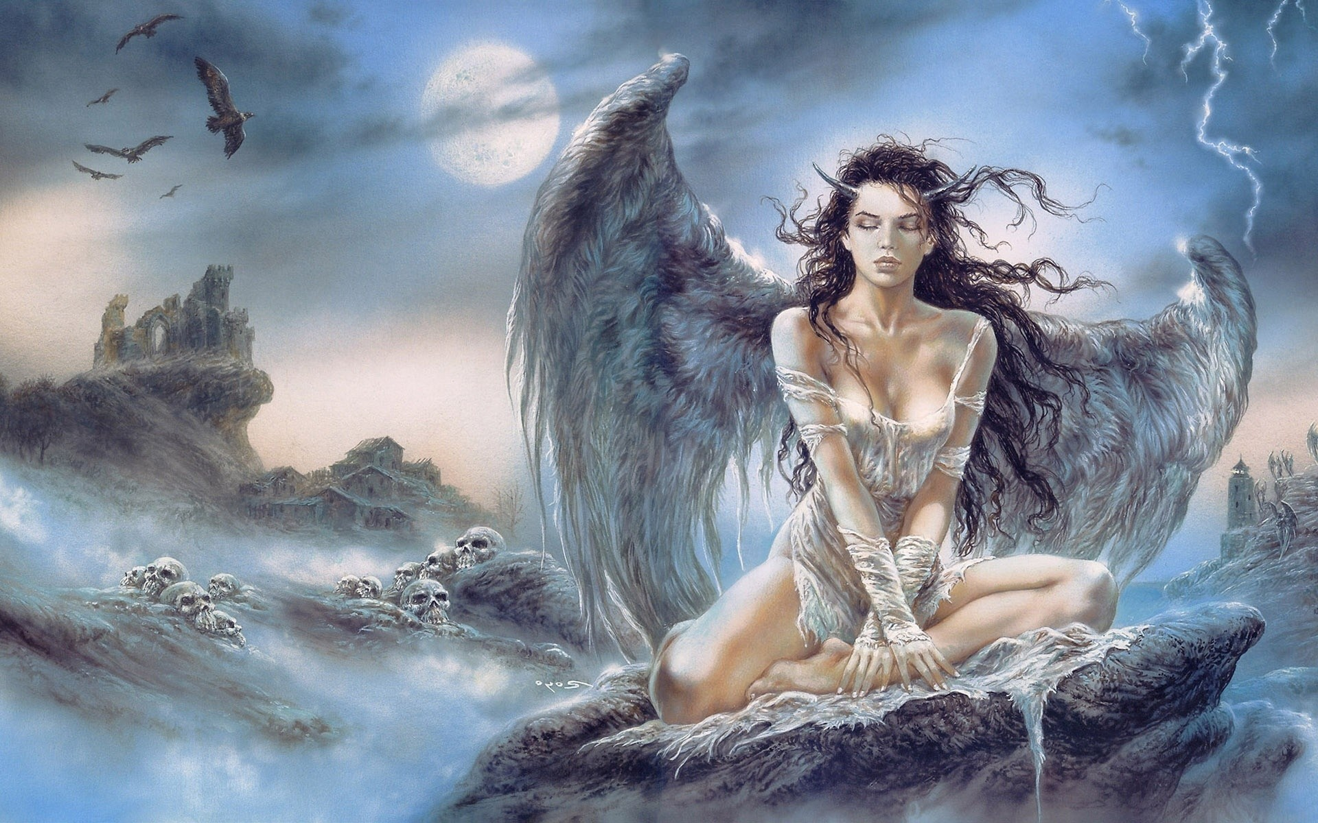 Res: 1920x1200, Luis Royo images Luis Royo Lady HD wallpaper and background photos