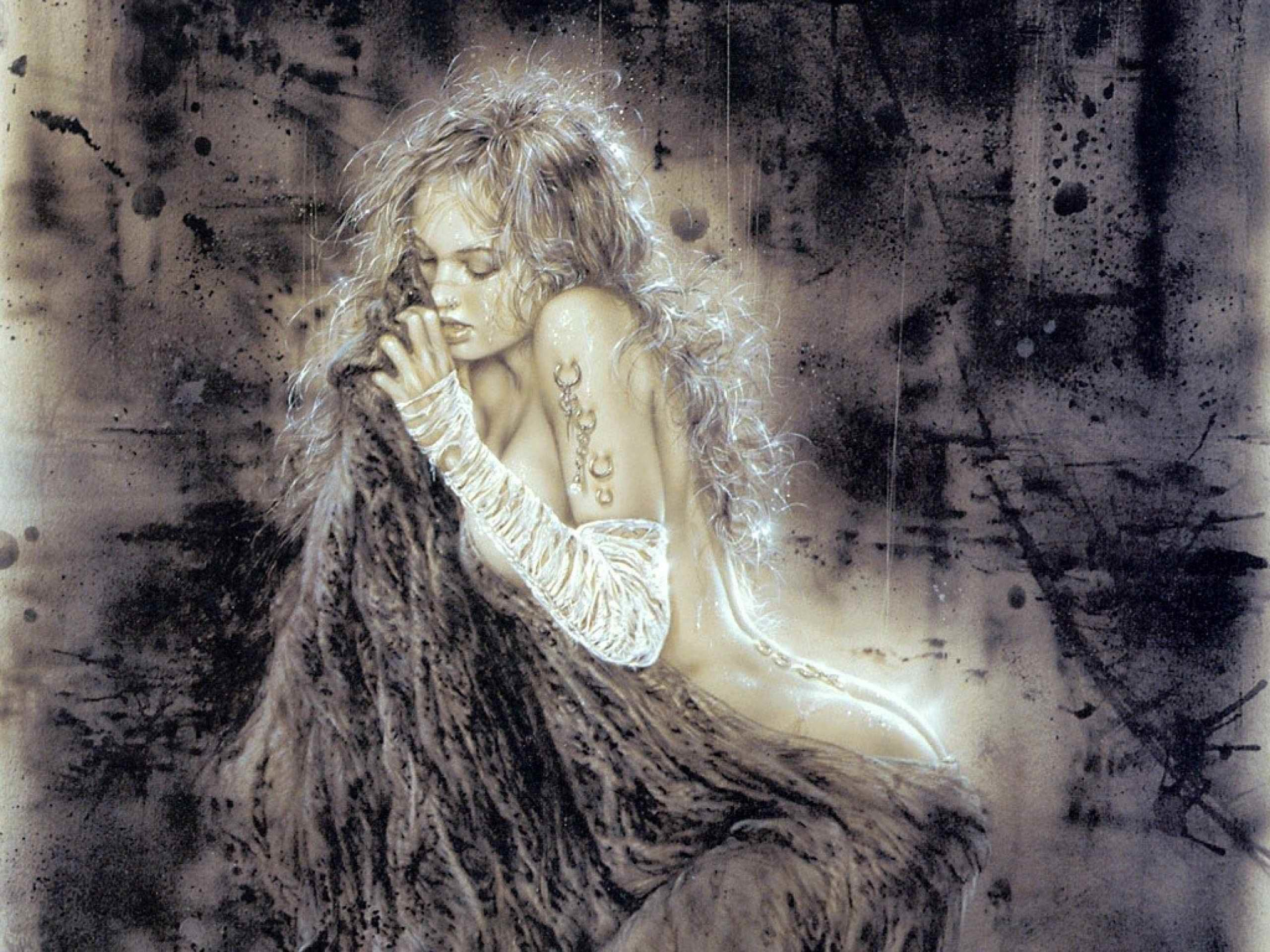 Res: 2560x1920, Luis Royo images Fantasy Woman HD wallpaper and background photos
