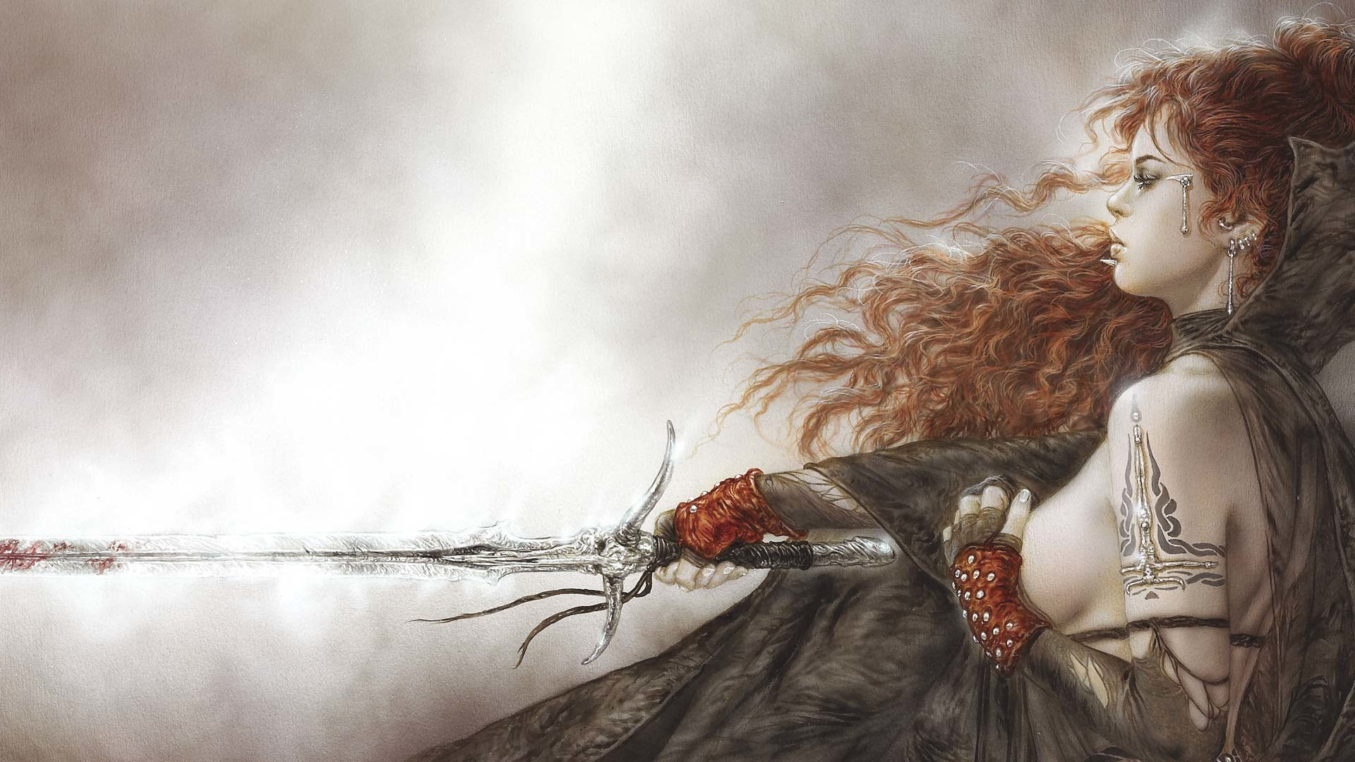 Res: 1920x1080, Luis Royo images Female Fighter HD wallpaper and background photos