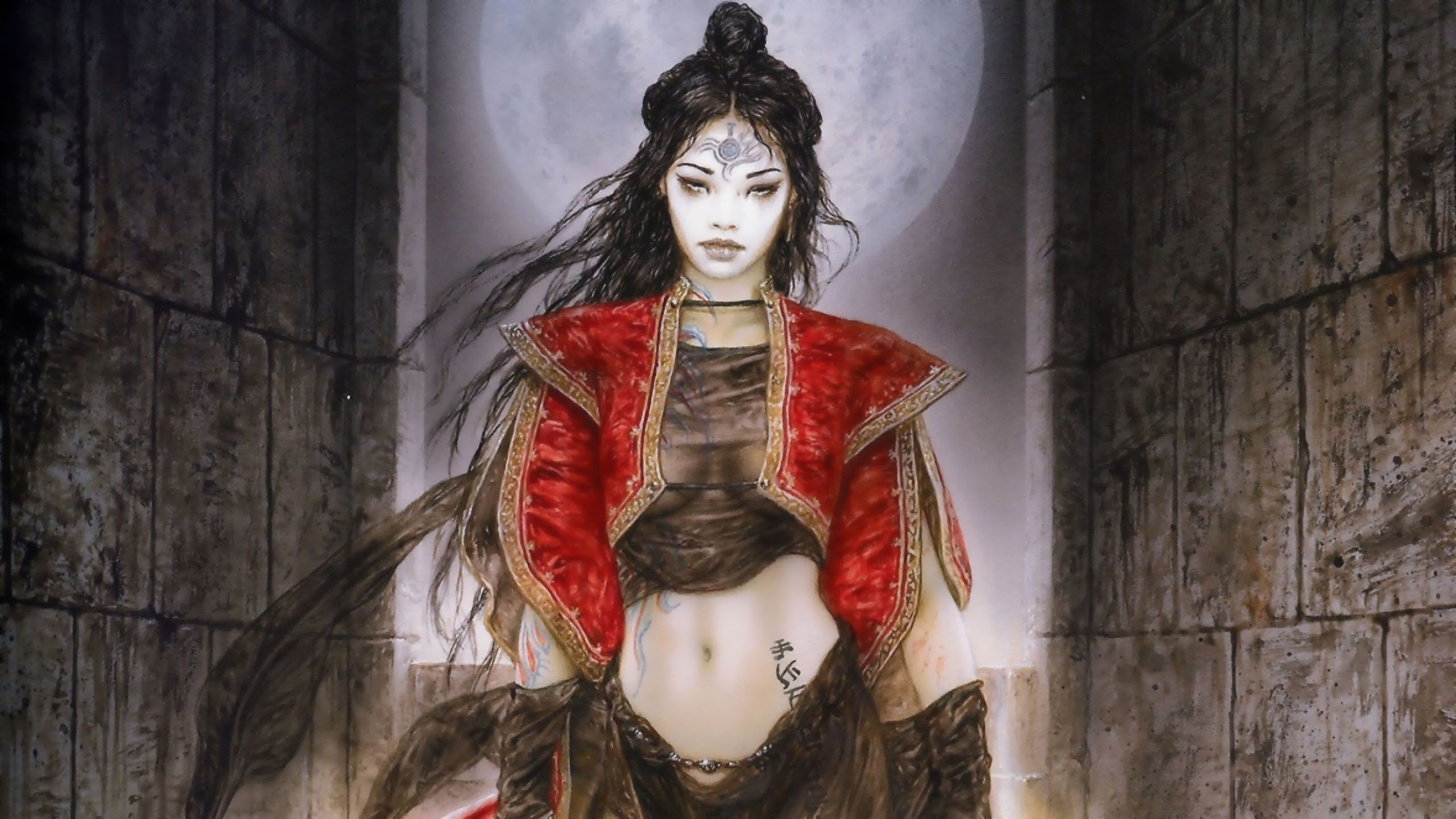 Res: 2560x1440, View, download, comment, and rate this  Luis Royo Wallpaper -  Wallpaper Abyss