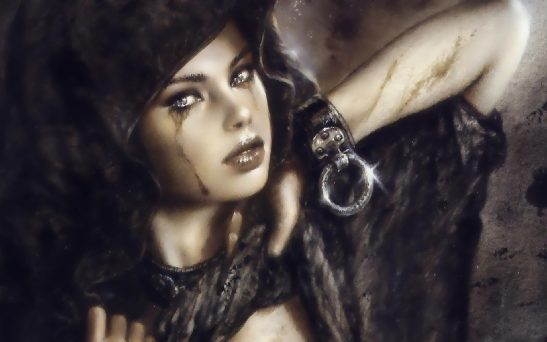 Res: 1920x1200, LUIS ROYO fantasy warrior painting art sexy babe wallpaper |  |  407771 | WallpaperUP