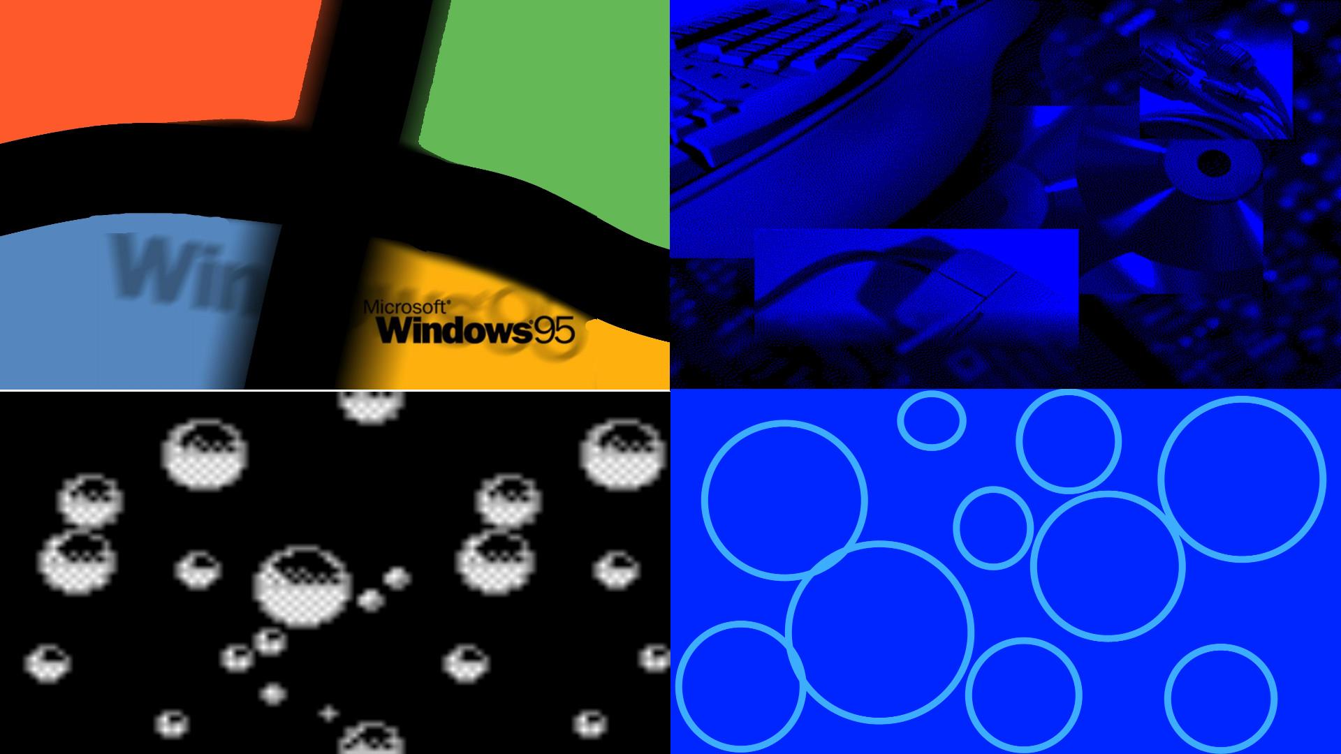 Res: 1920x1080, Windows 95 Wallpaper Pack by krichouxtech Windows 95 Wallpaper Pack by  krichouxtech