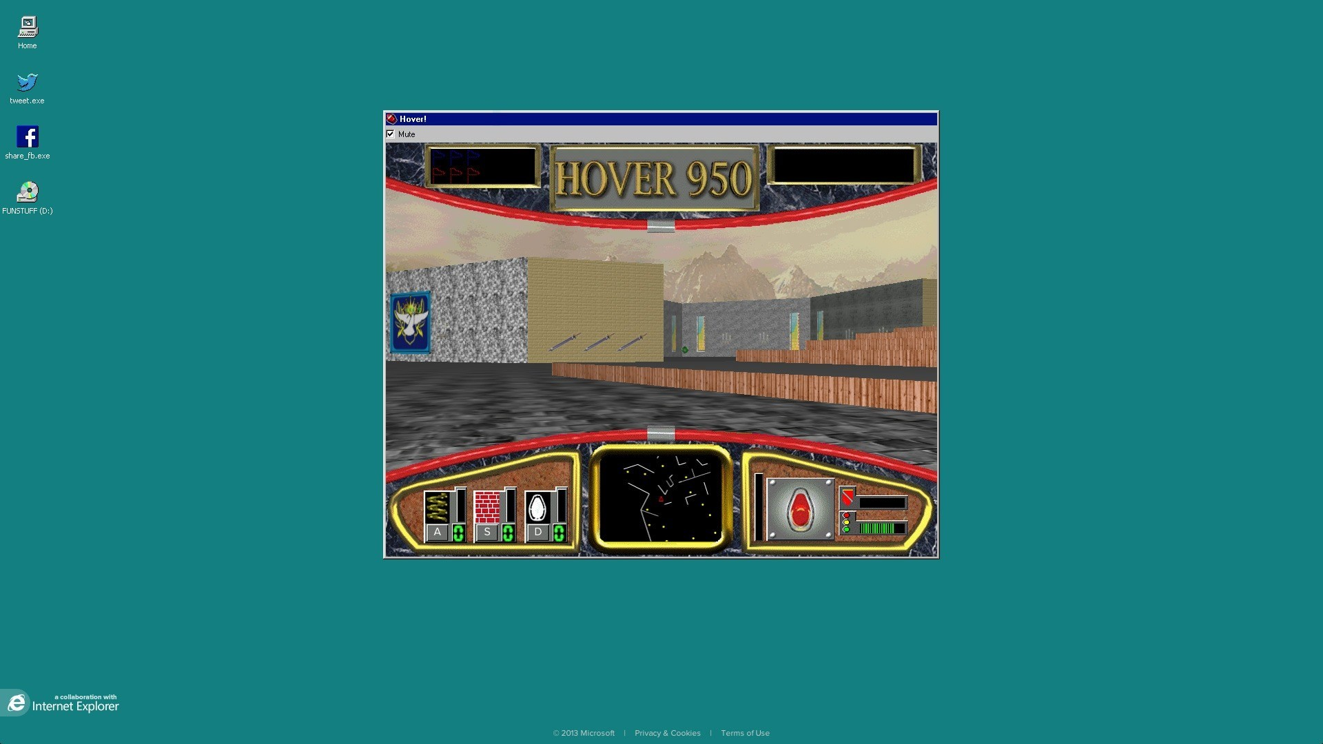 Res: 1920x1080, ... Hover - Retro-Spiel aus Windows-95-Zeiten