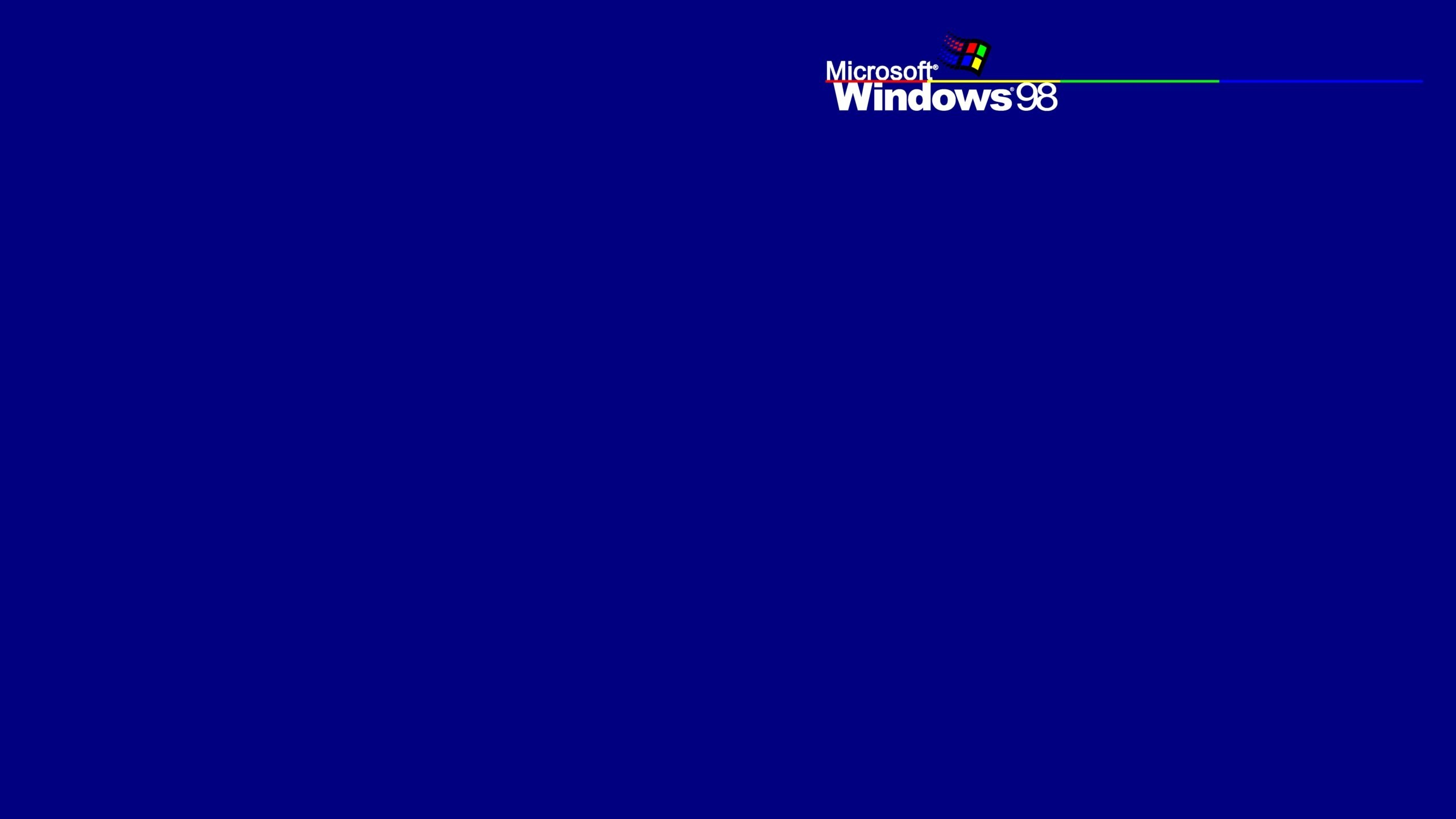Res: 2560x1440, windows 98 wallpaper #70813