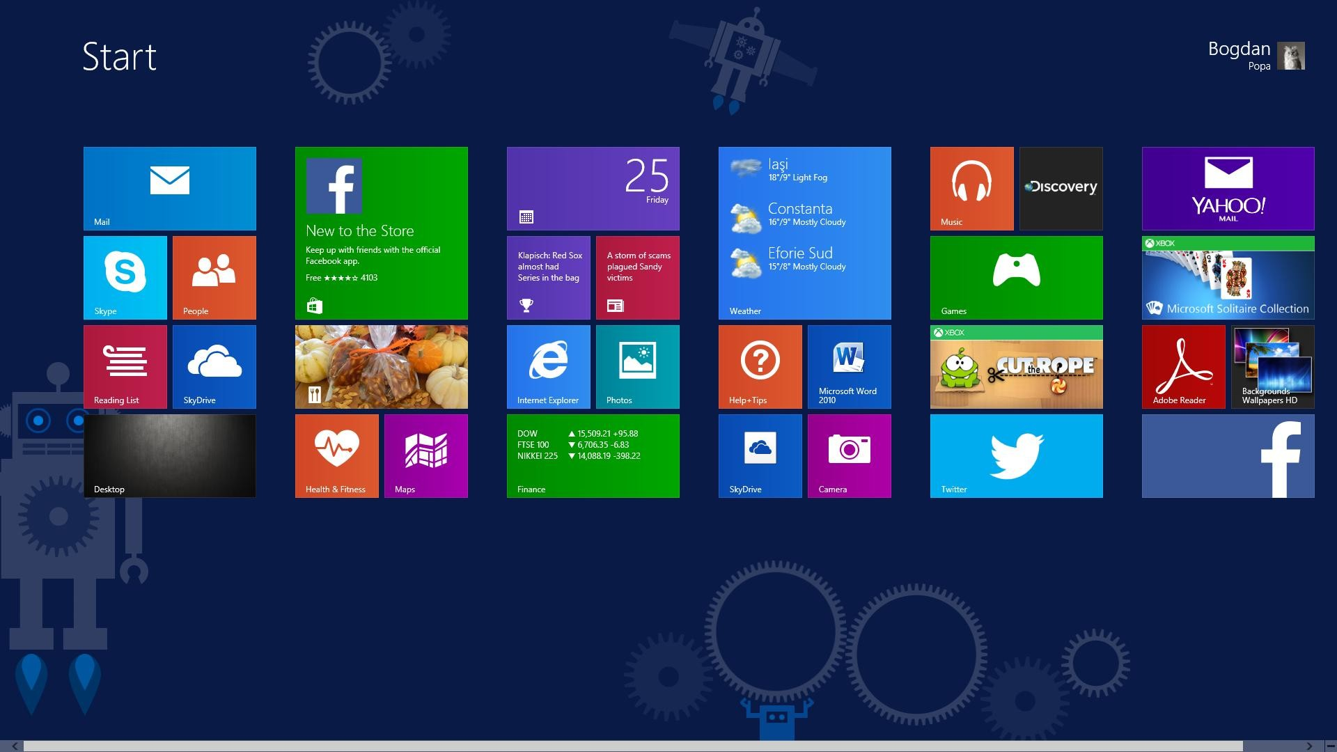 Res: 1920x1080, Windows 8.1 Start Screen Wallpaper - WallpaperSafari src · Windows 8 1  Wallpaper ...