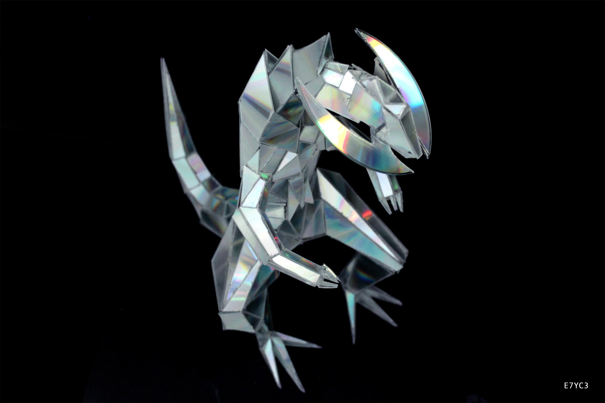 Res: 2100x1400, ''Haxorus''   CD Sculpture ...