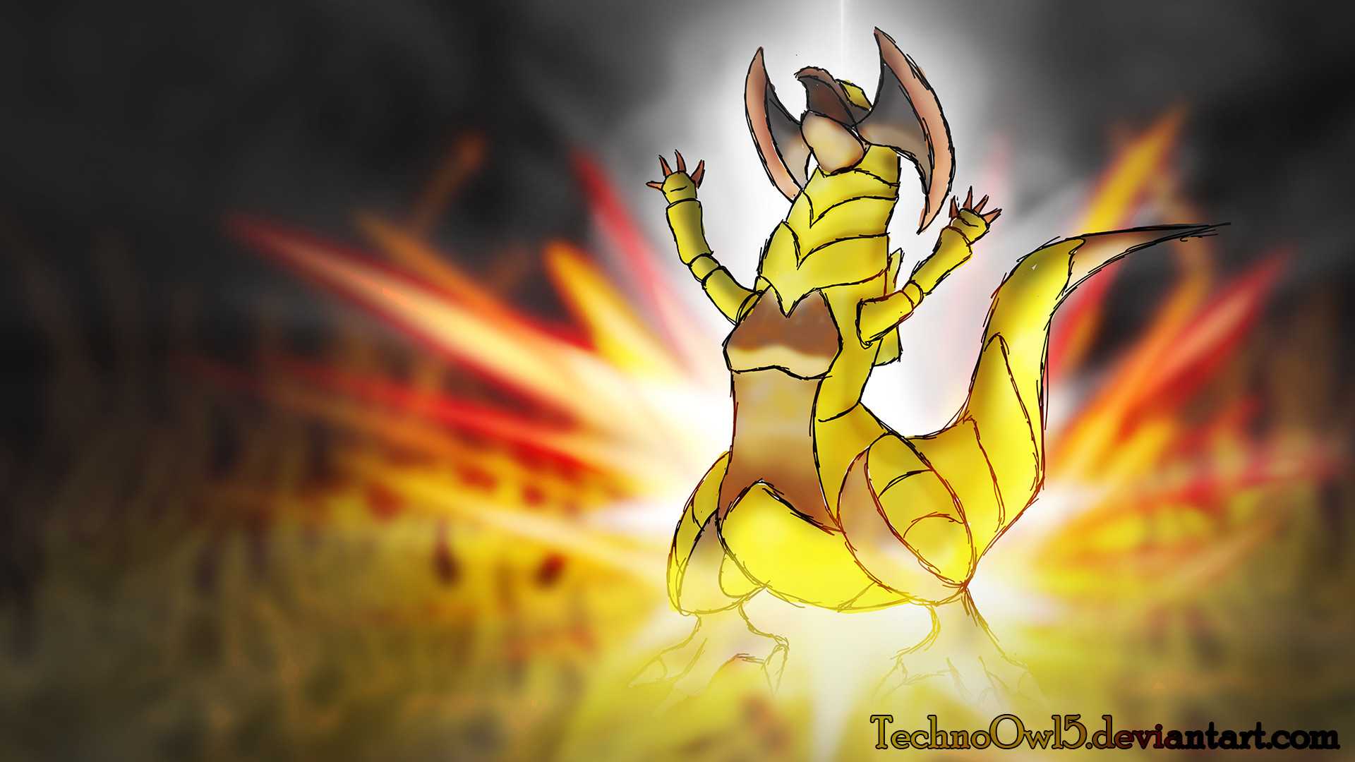 Res: 1920x1080, Haxorus Outrage by TechnoOwl5 Haxorus Outrage by TechnoOwl5