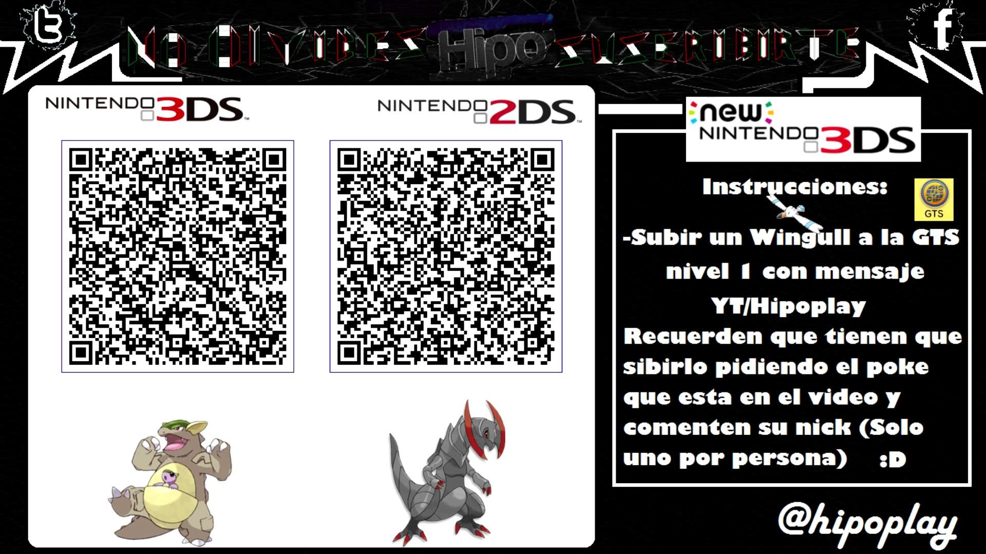Res: 1920x1080, [Terminado] Code qr Kangaskhan & Haxorus Shinys Competitivos   Pokemon XY /  ORAS