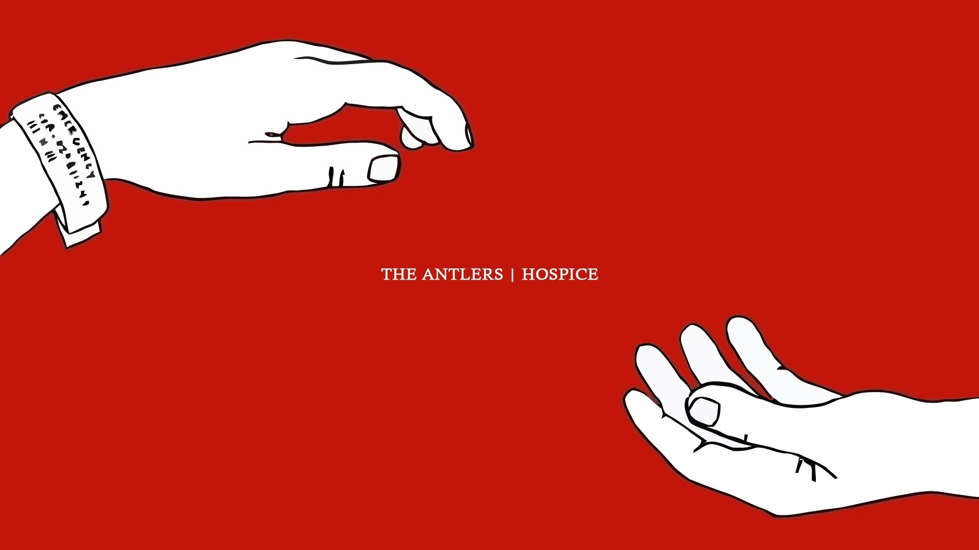 Res: 1920x1080, rock the antlers indie simple background hospice  wallpaper Art HD  Wallpaper