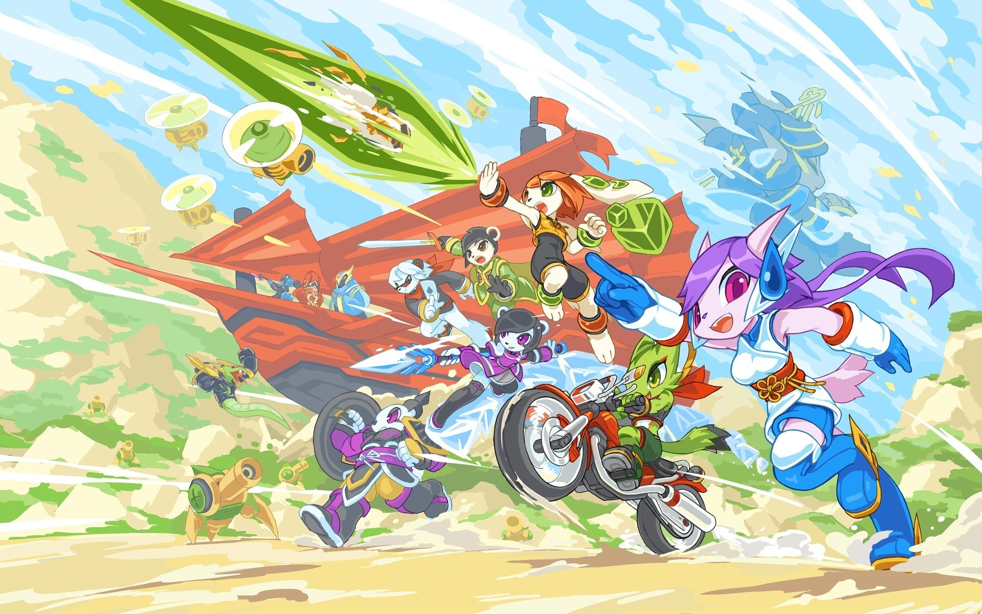Res: 1920x1200, Freedom Planet, Indie Games Wallpapers HD / Desktop and Mobile Backgrounds