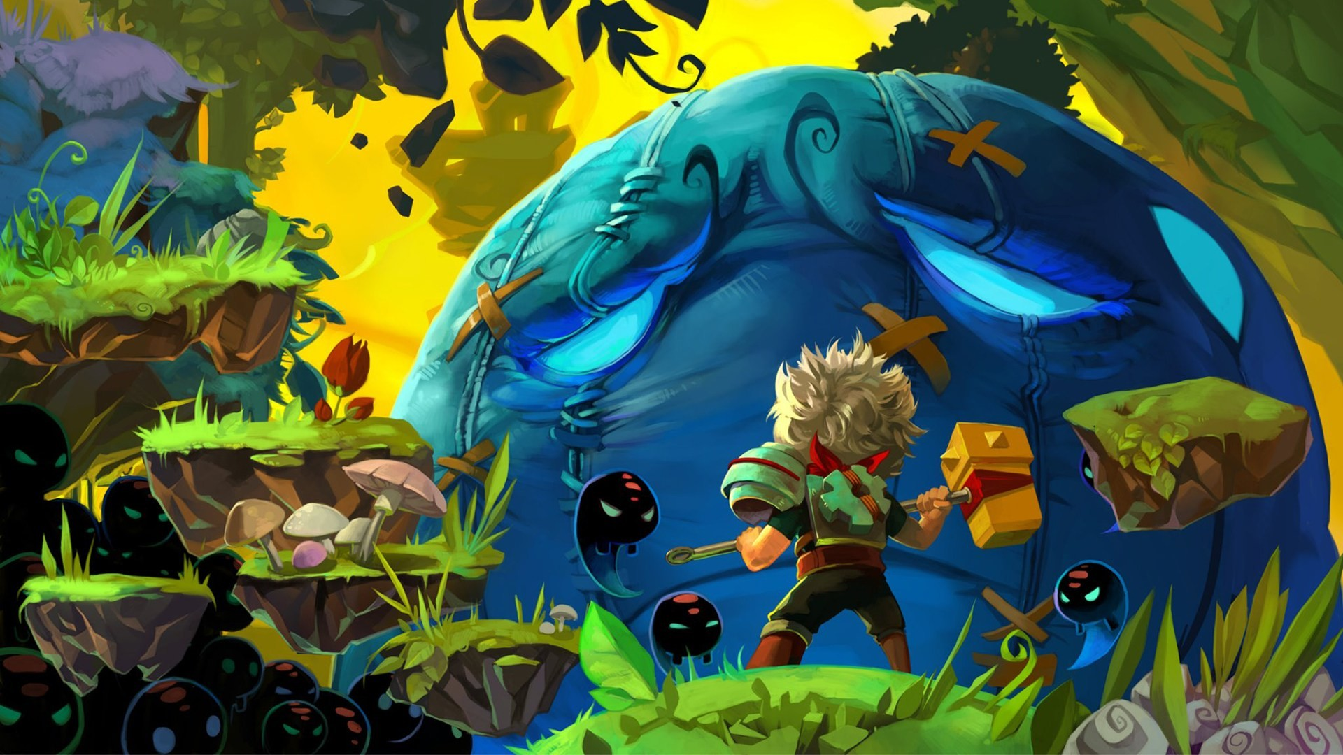 Res: 1920x1080, Indie Game Bastion (video game) 1080p HD Wallpaper Background