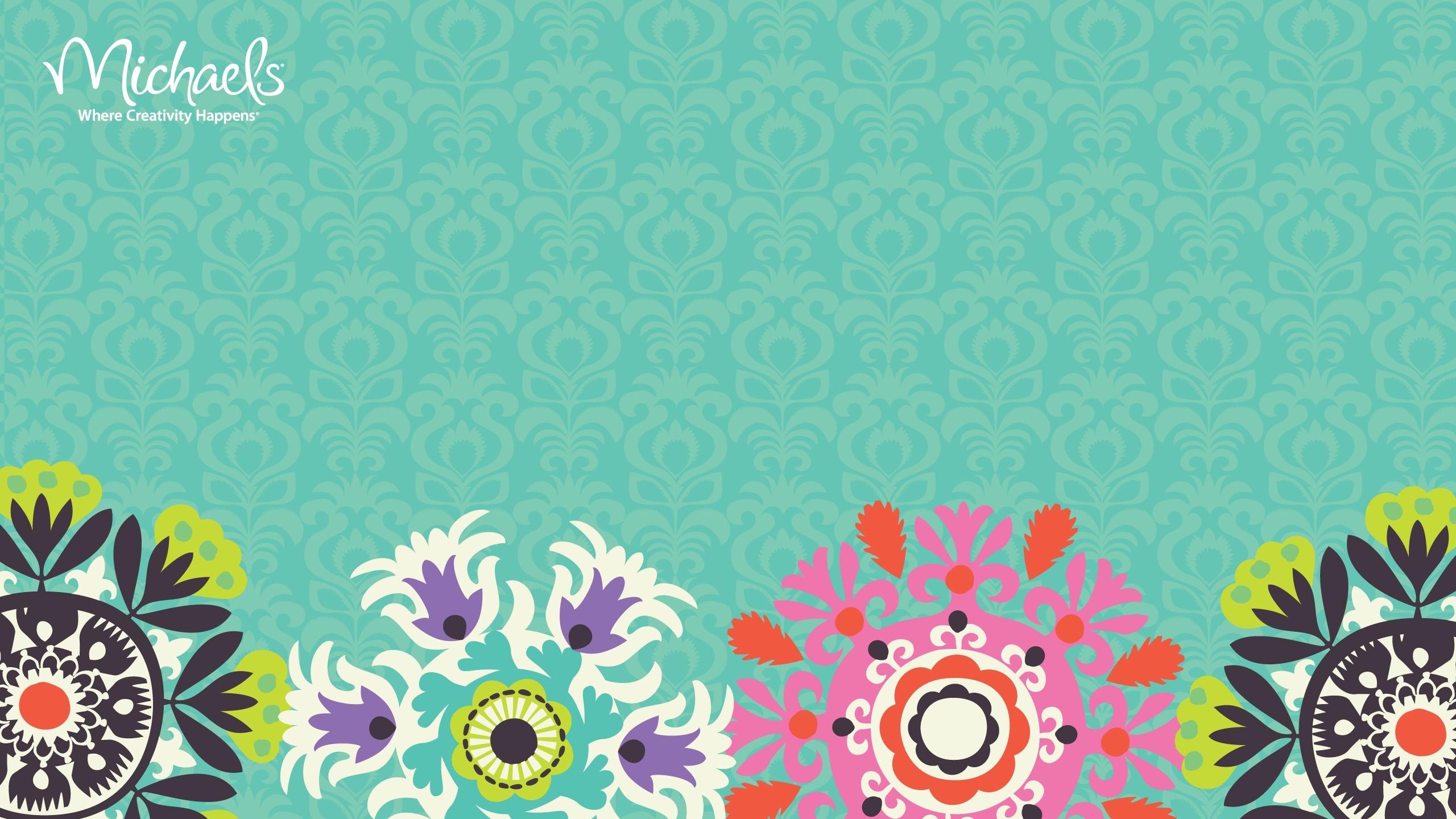 Res: 2560x1440, Indie Floral