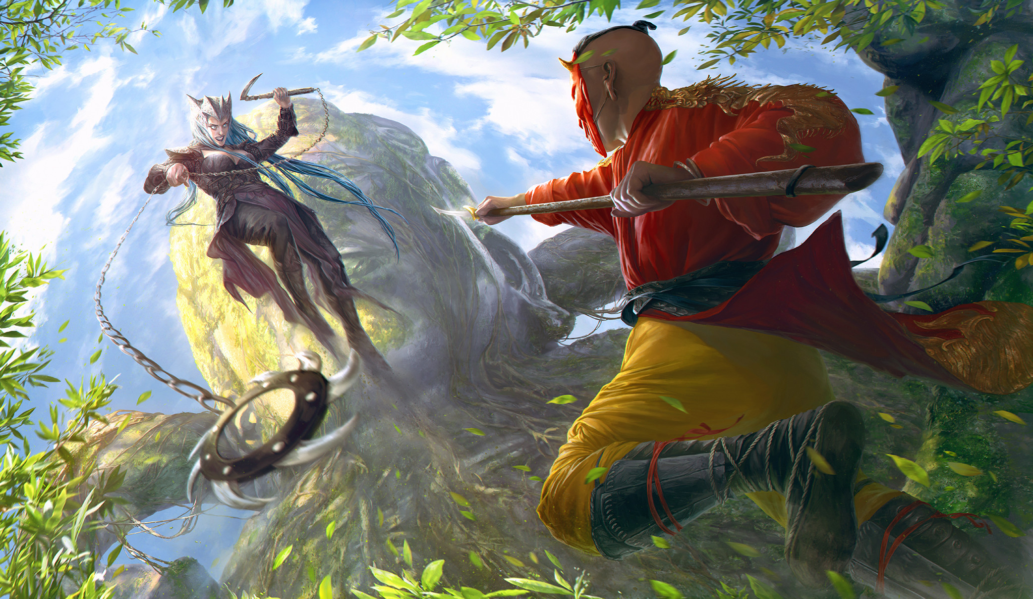 Res: 2084x1210, ... Art for Shadow Fight 3 by Darey-Dawn