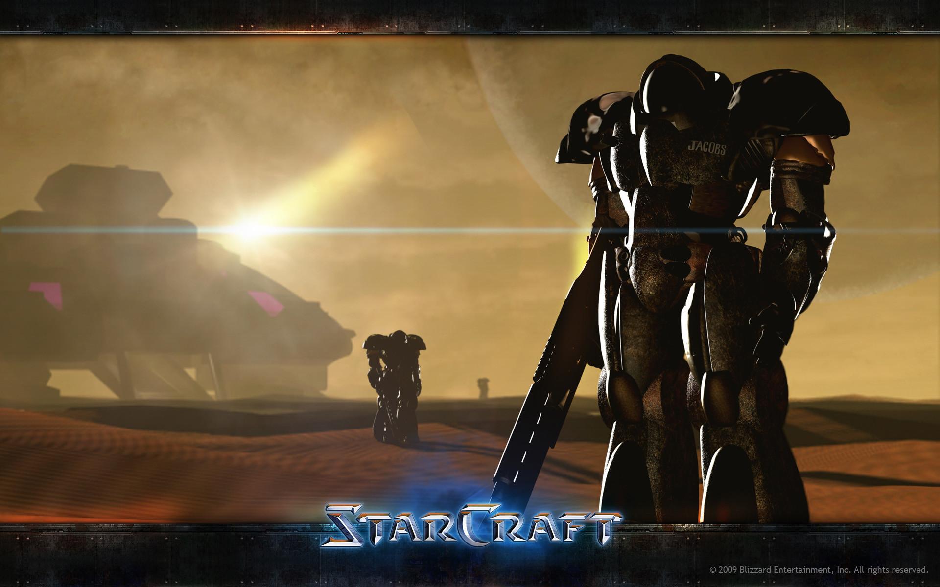 Res: 1920x1200, Starcraft.   Wallpaper 02
