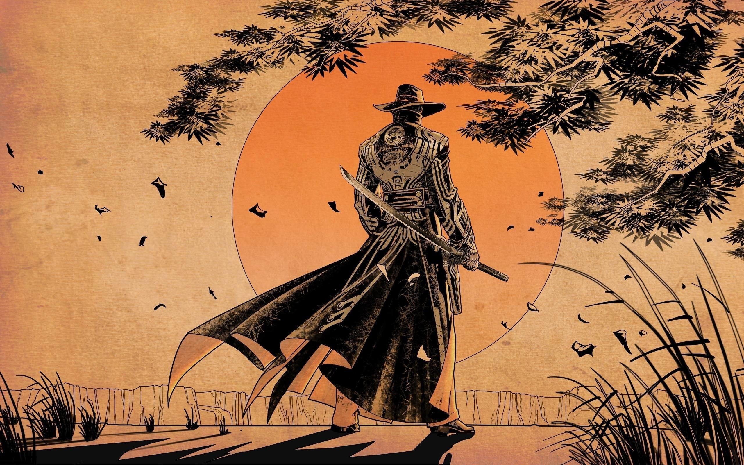Res: 2560x1600,  Pix For > Samurai Wallpaper Anime