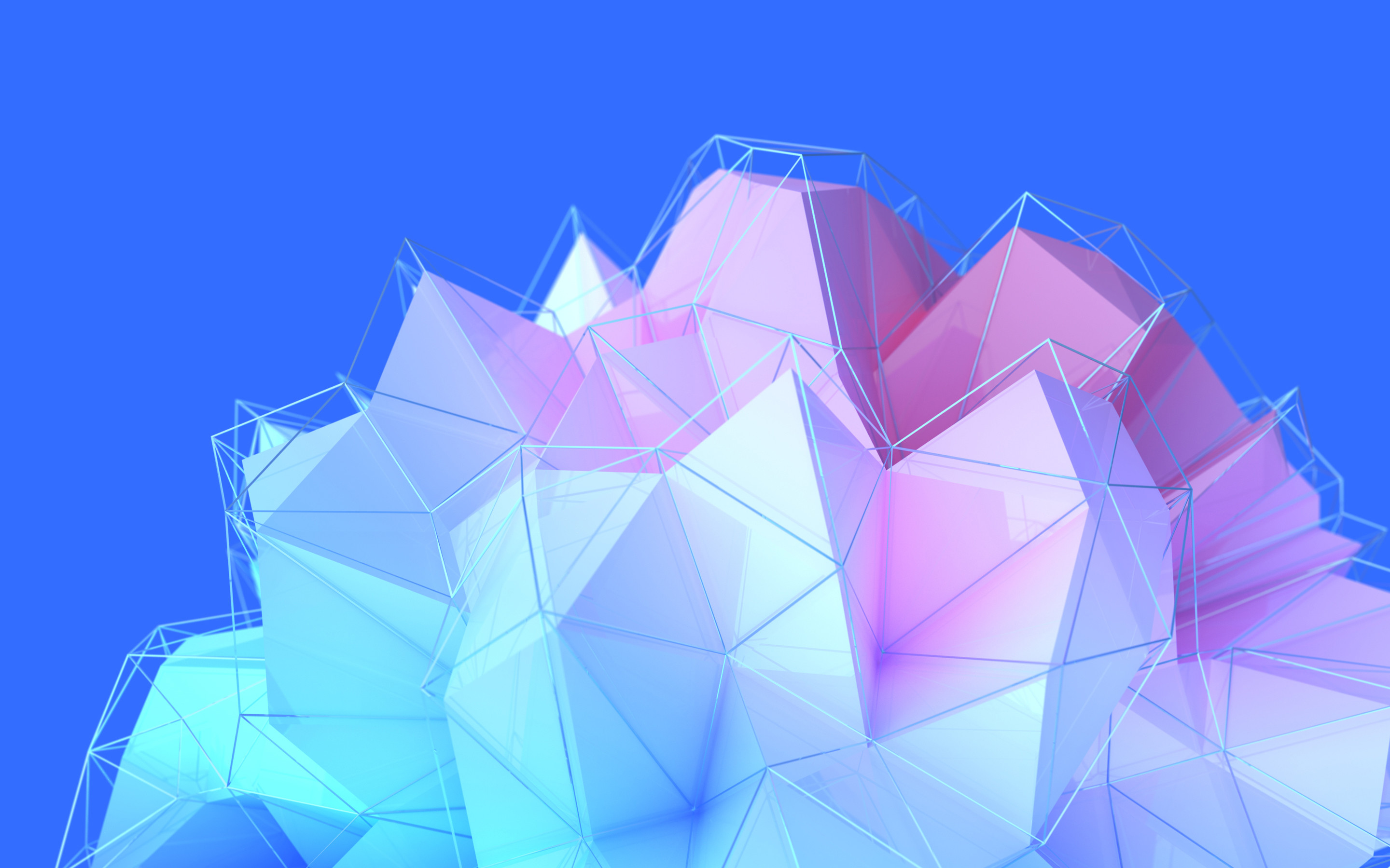 Res: 2880x1800, 3D Shapes