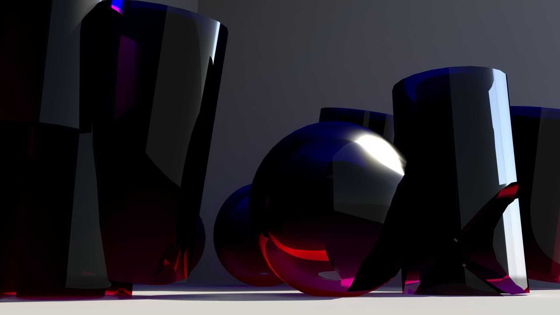 Res: 1920x1080, glass, shape, blue
