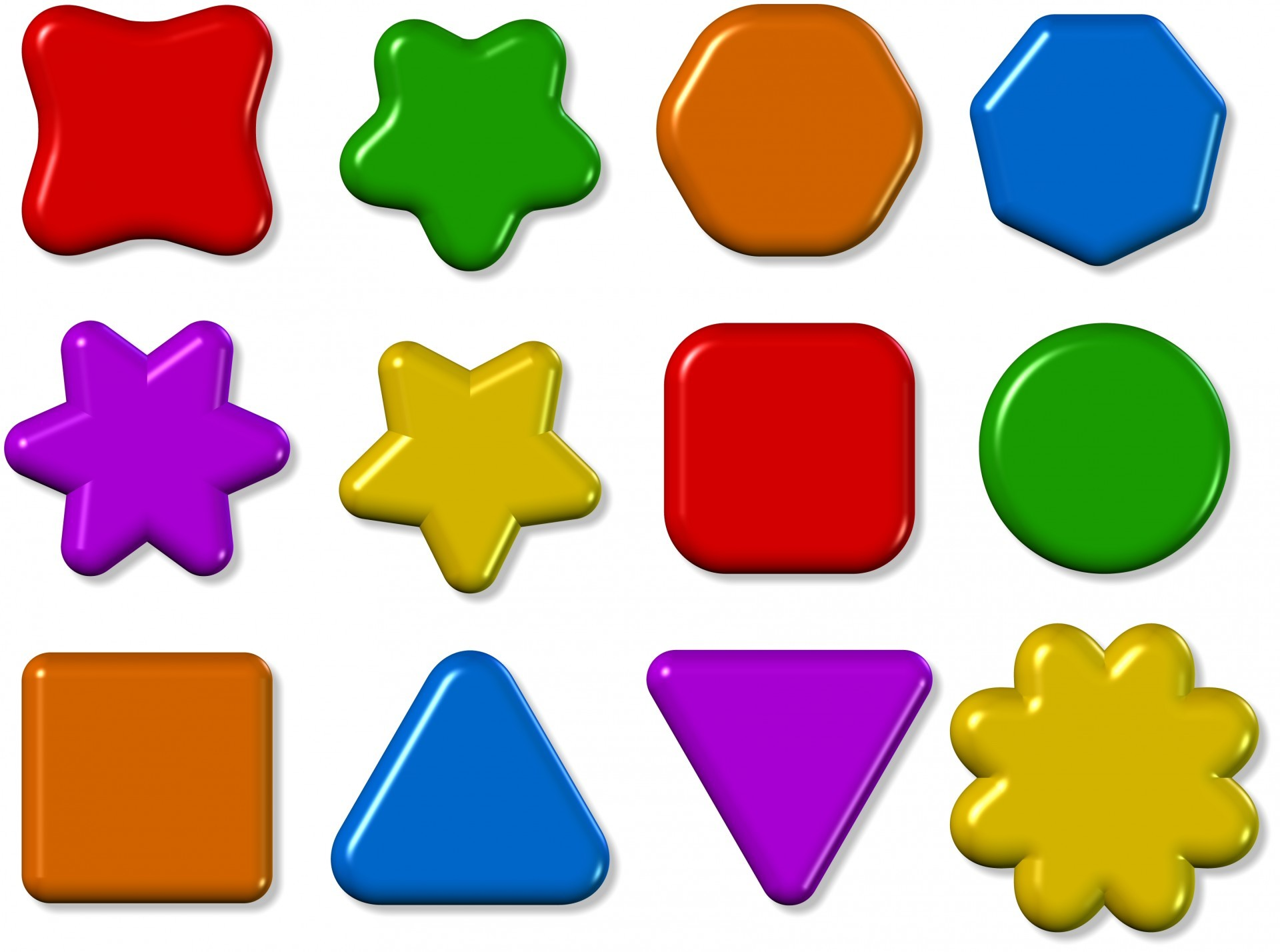Res: 1920x1428, 3d Shape Icons