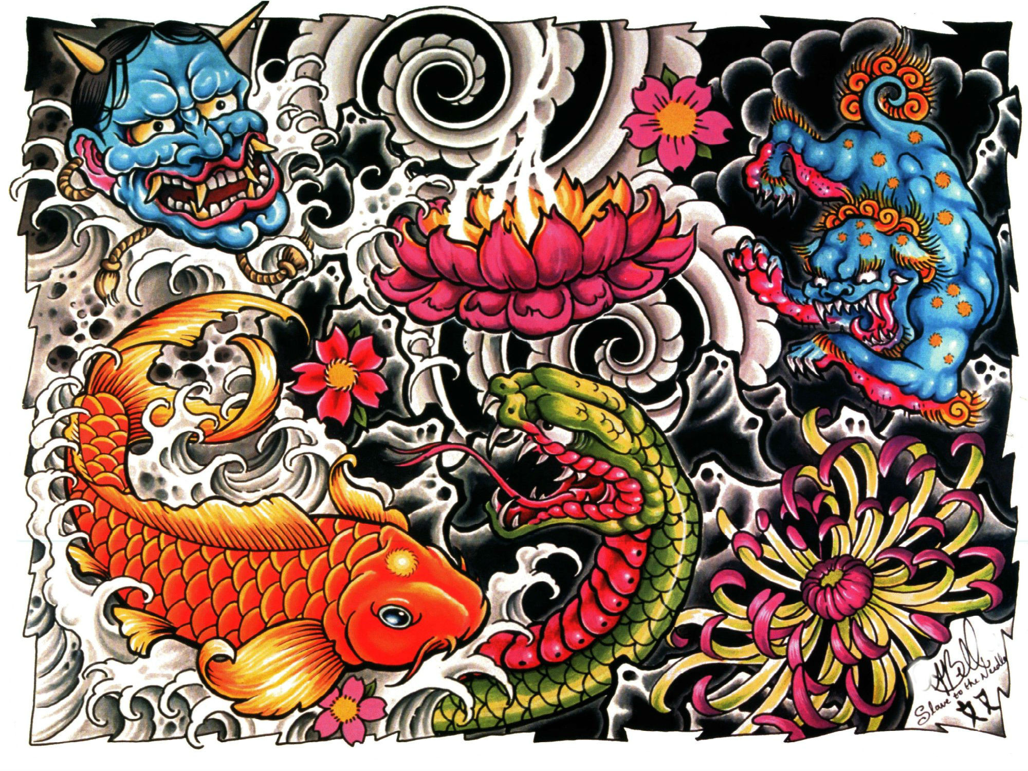 Res: 2000x1500, Artistic - Tattoo Wallpaper