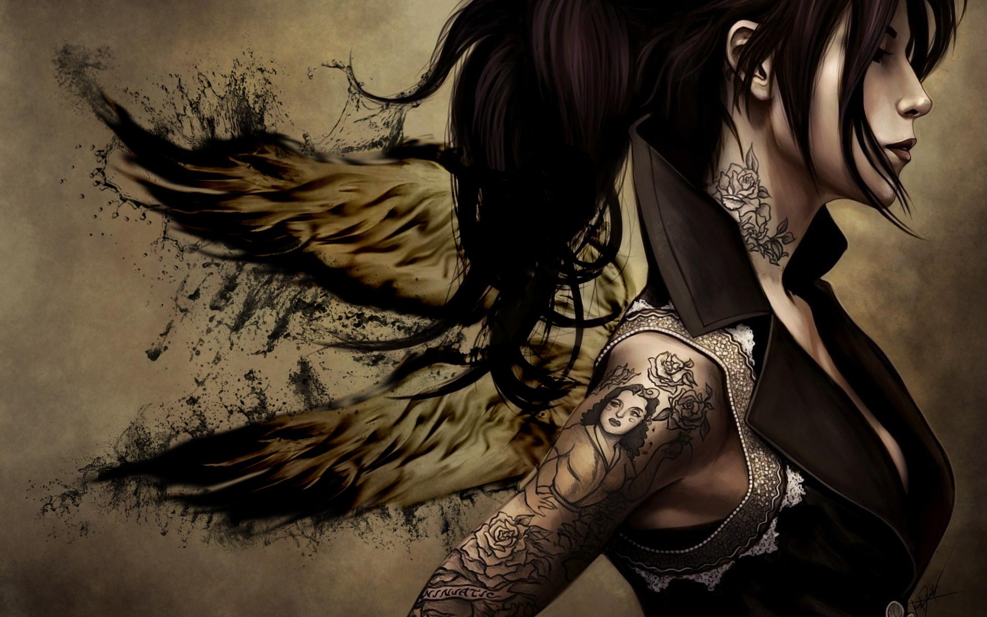Res: 1920x1200, Artistic - Tattoo Wallpaper