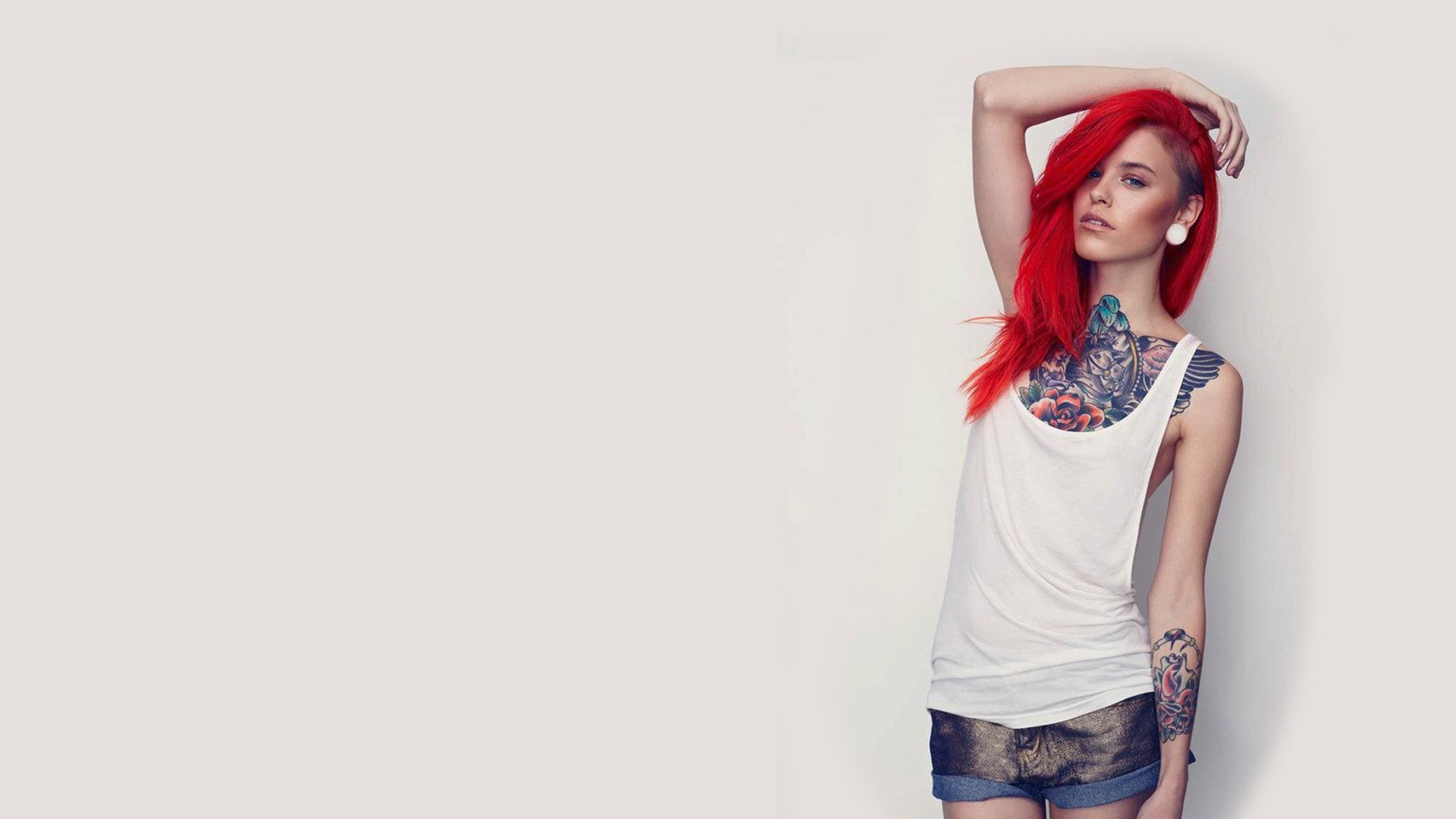 Res: 1920x1080, Tattoo Girl Wallpaper
