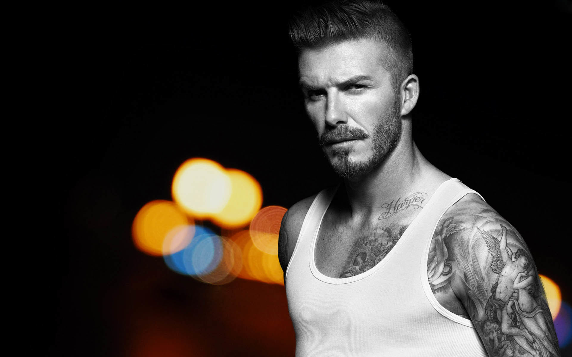 Res: 1920x1200, David Beckham Tattoos 2014