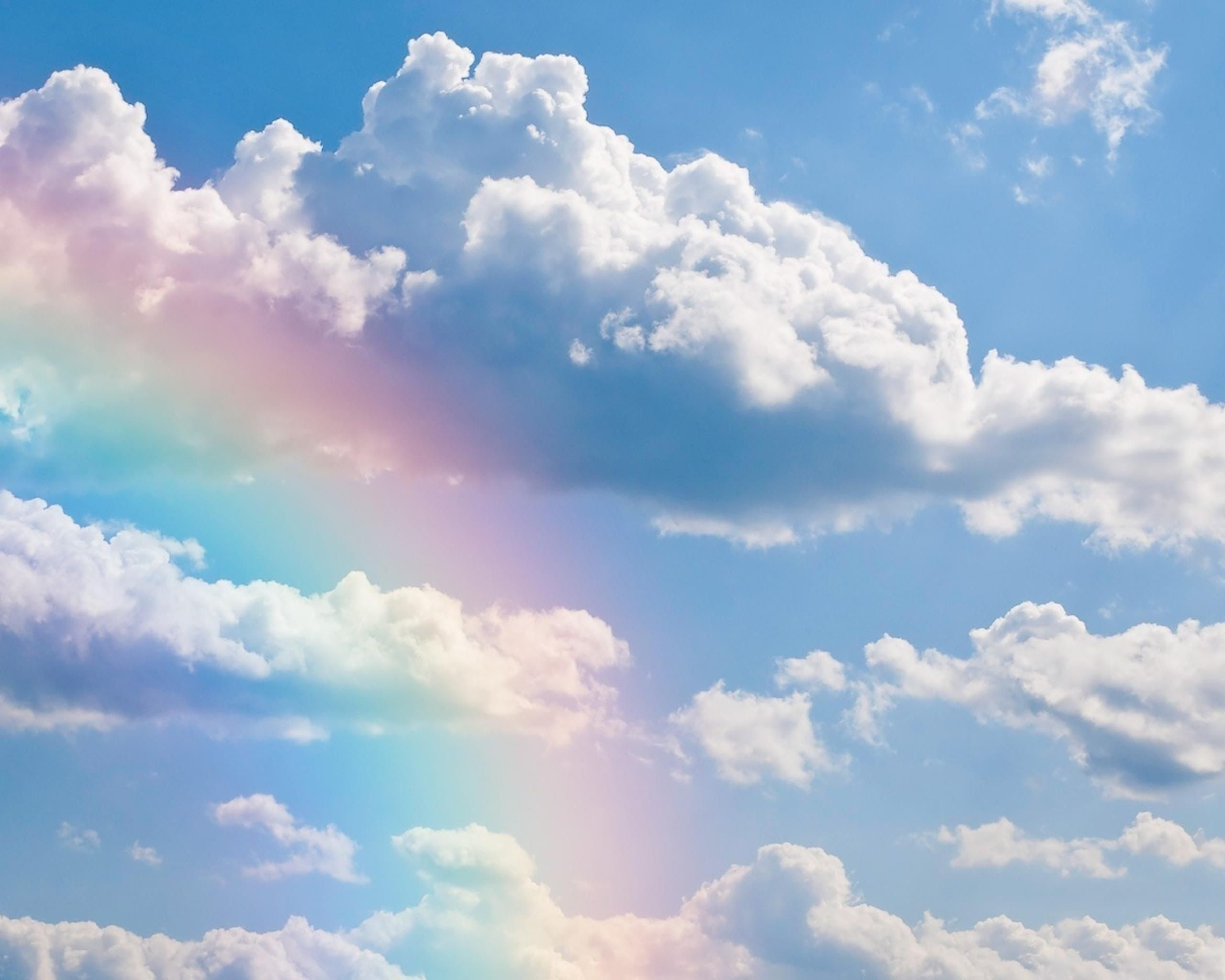Res: 2560x2048, Rainbows | Rainbows Clouds Sky Rainbow Nature Free Hd Wallpaper with   .