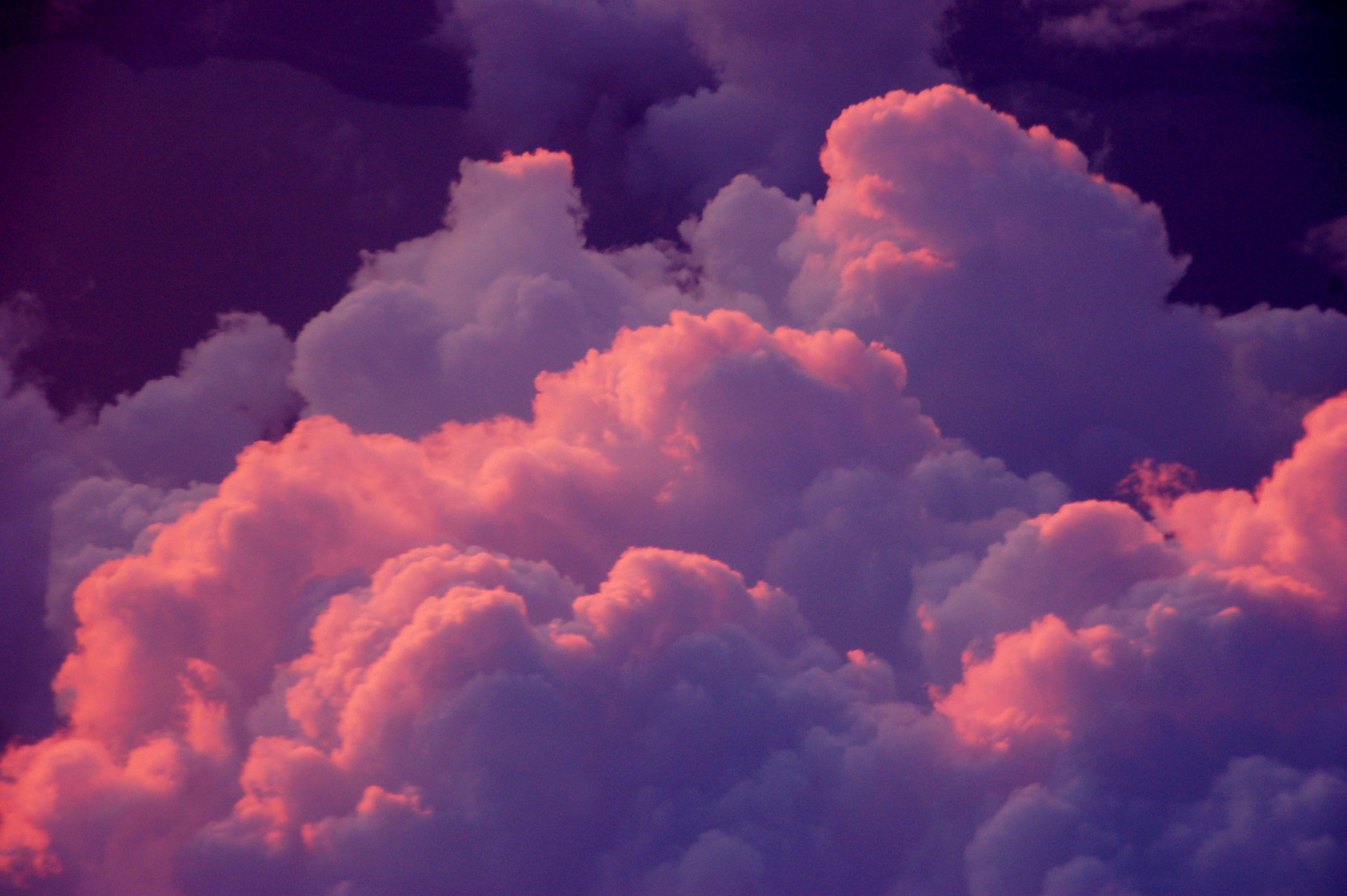 Res: 3008x2000, Pink & Purple Clouds