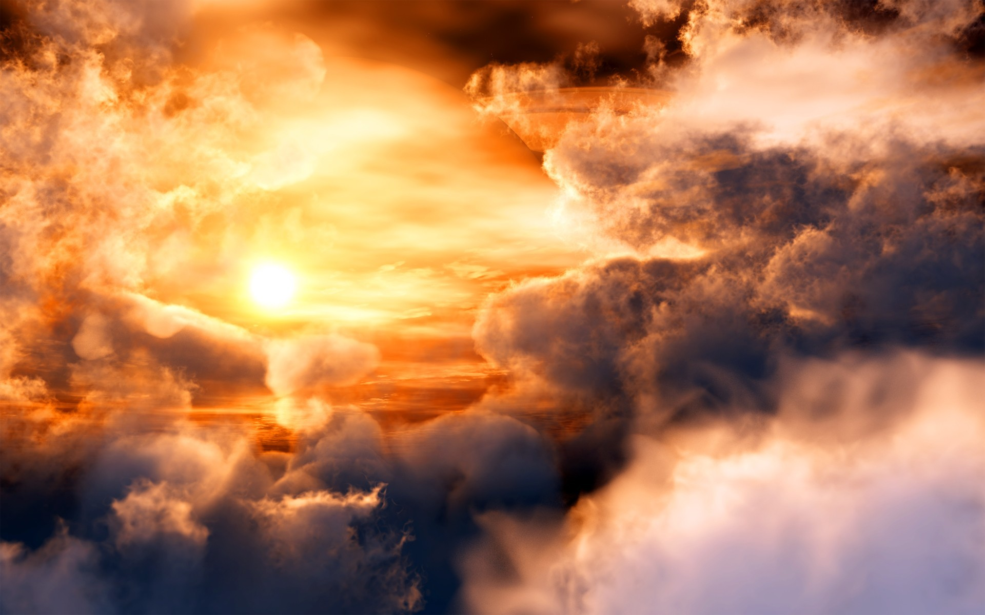 Res: 1920x1200, Amazing Clouds HD Wallpapers - HD Images New