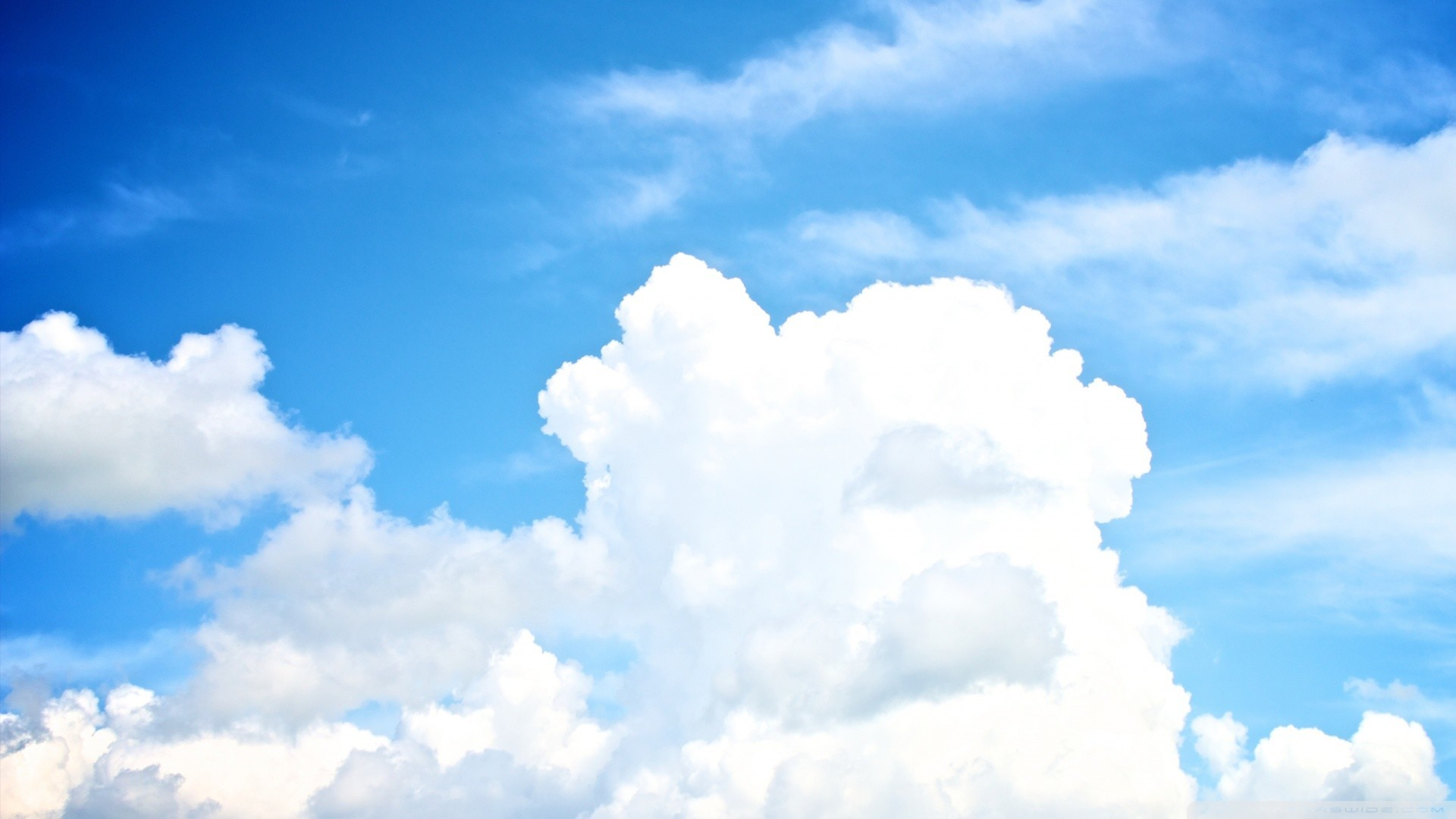 Res: 1920x1080, White Clouds In The Sky HD desktop wallpaper High Definition .