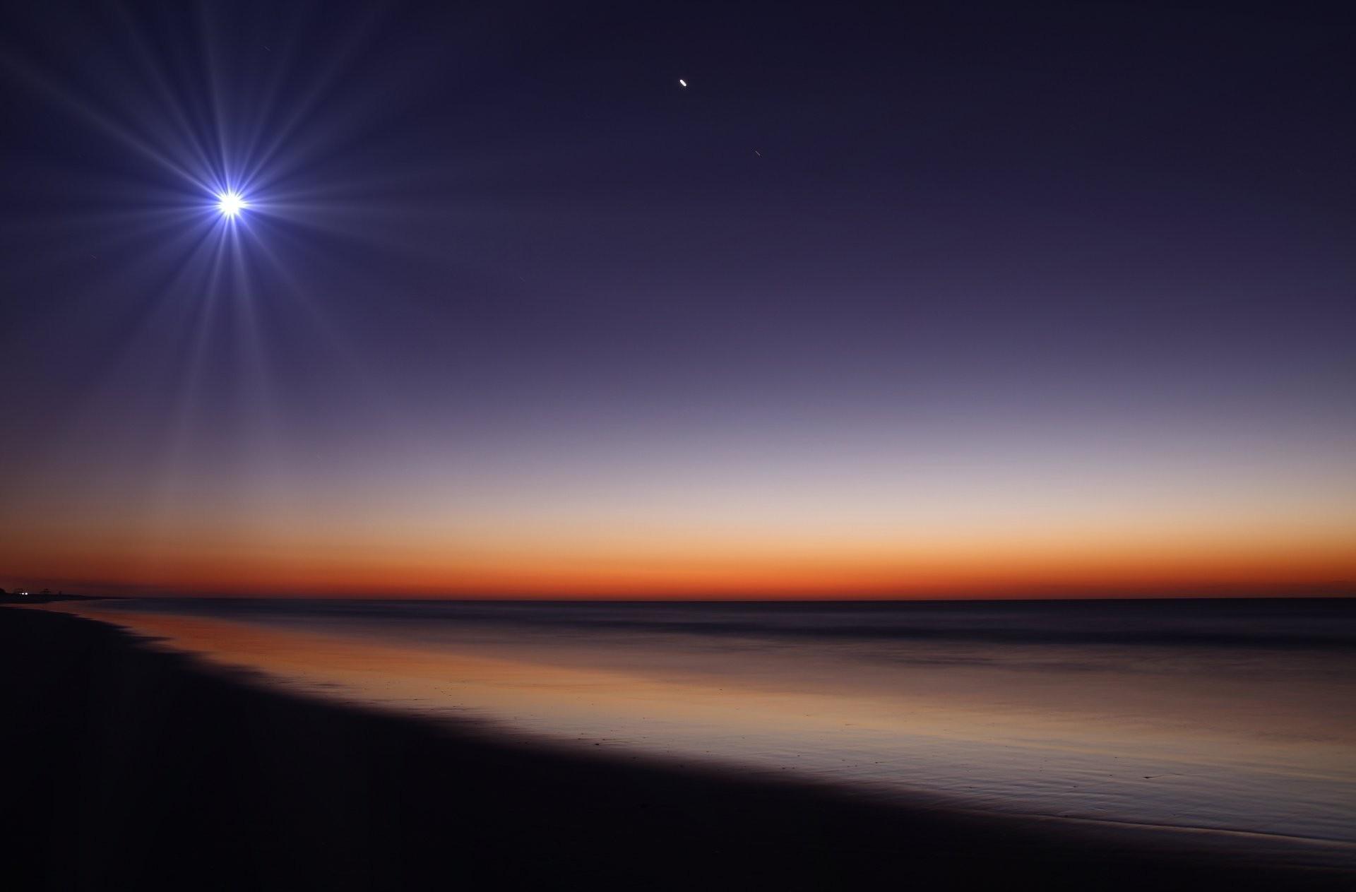 Res: 1920x1263, nature night beach moon sand