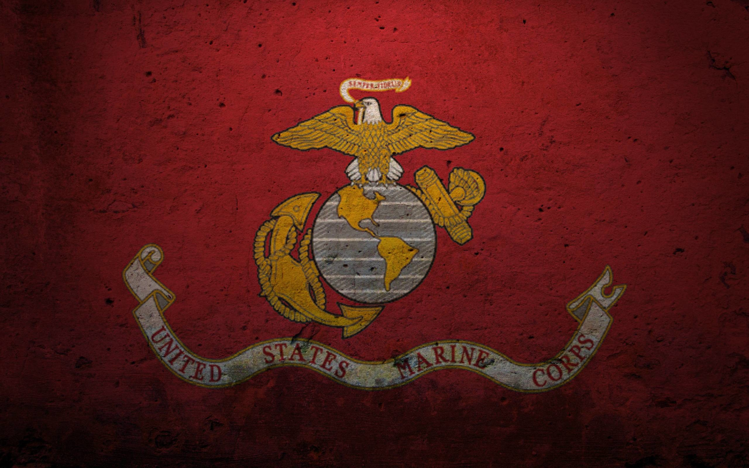 Res: 2560x1600, Marine Corps Logo HD Wallpapers 1600×1600 - High Definition .