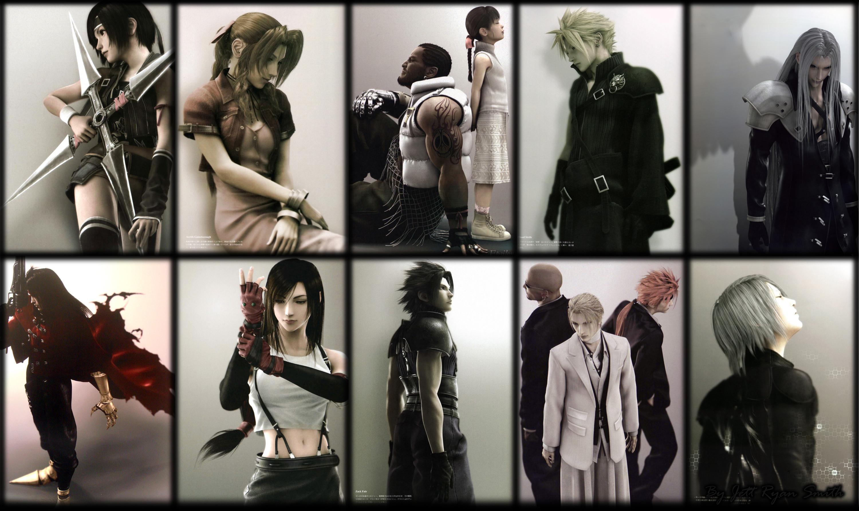 Res: 3000x1784, Final Fantasy VII ...