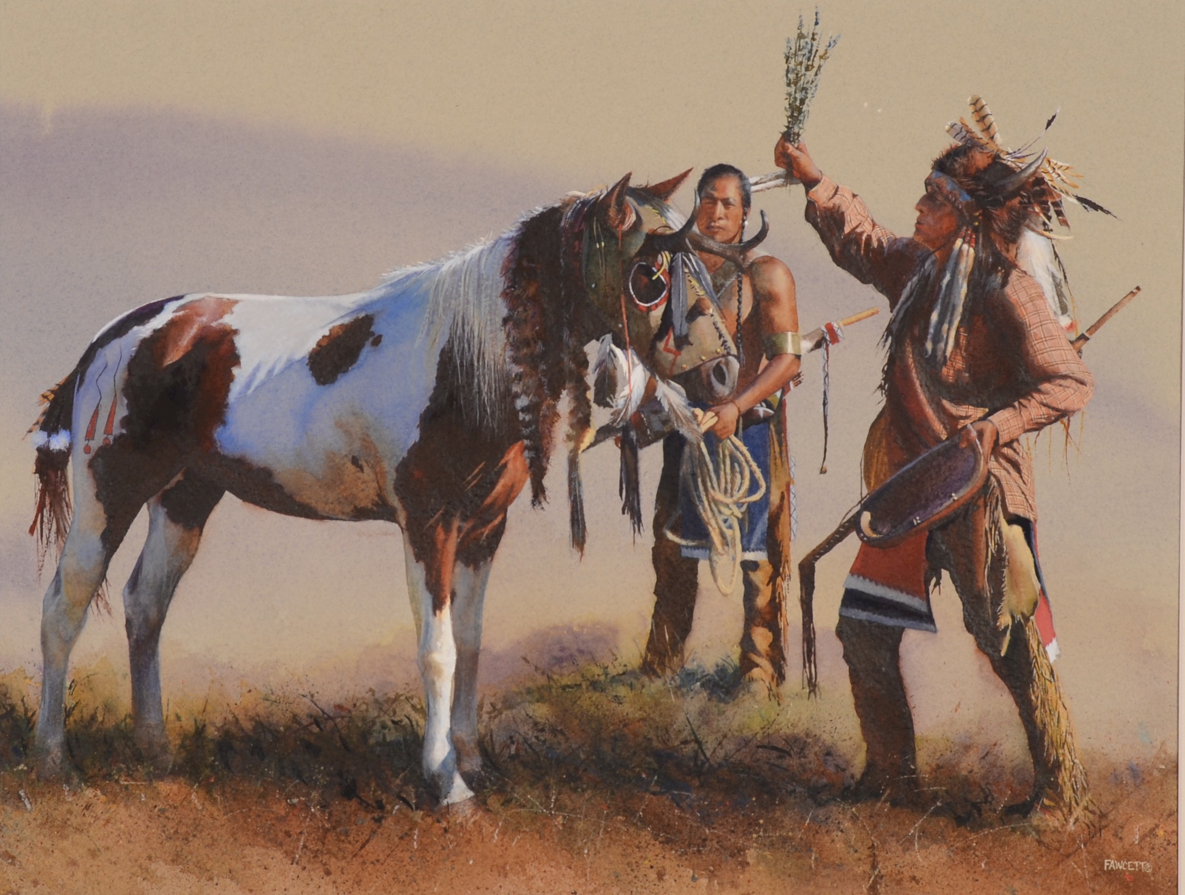 Res: 2429x1835, Top Native American War Horses Wallpapers