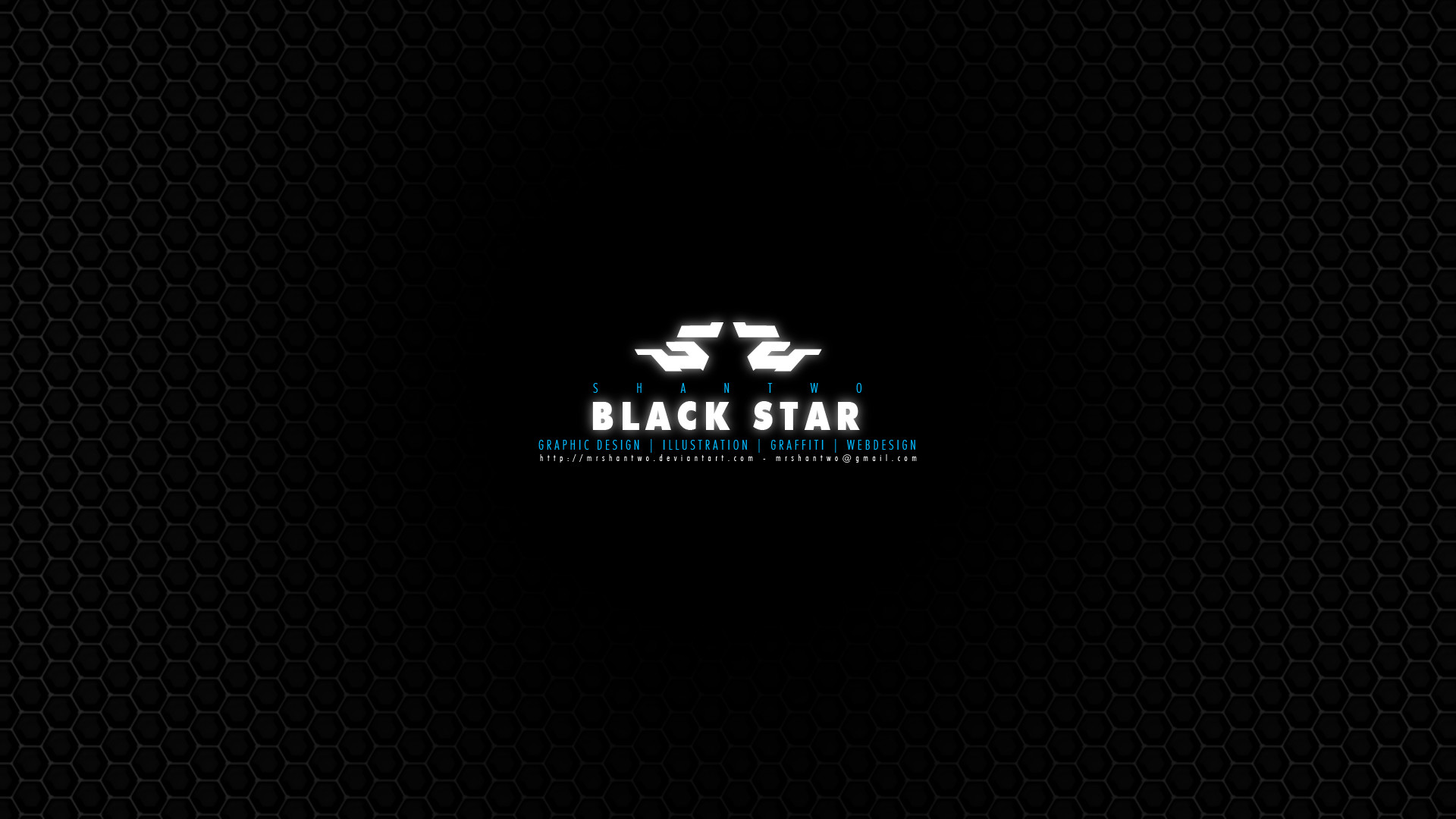Res: 1920x1080, ... wallpaper - black star concept by MrShanTwo