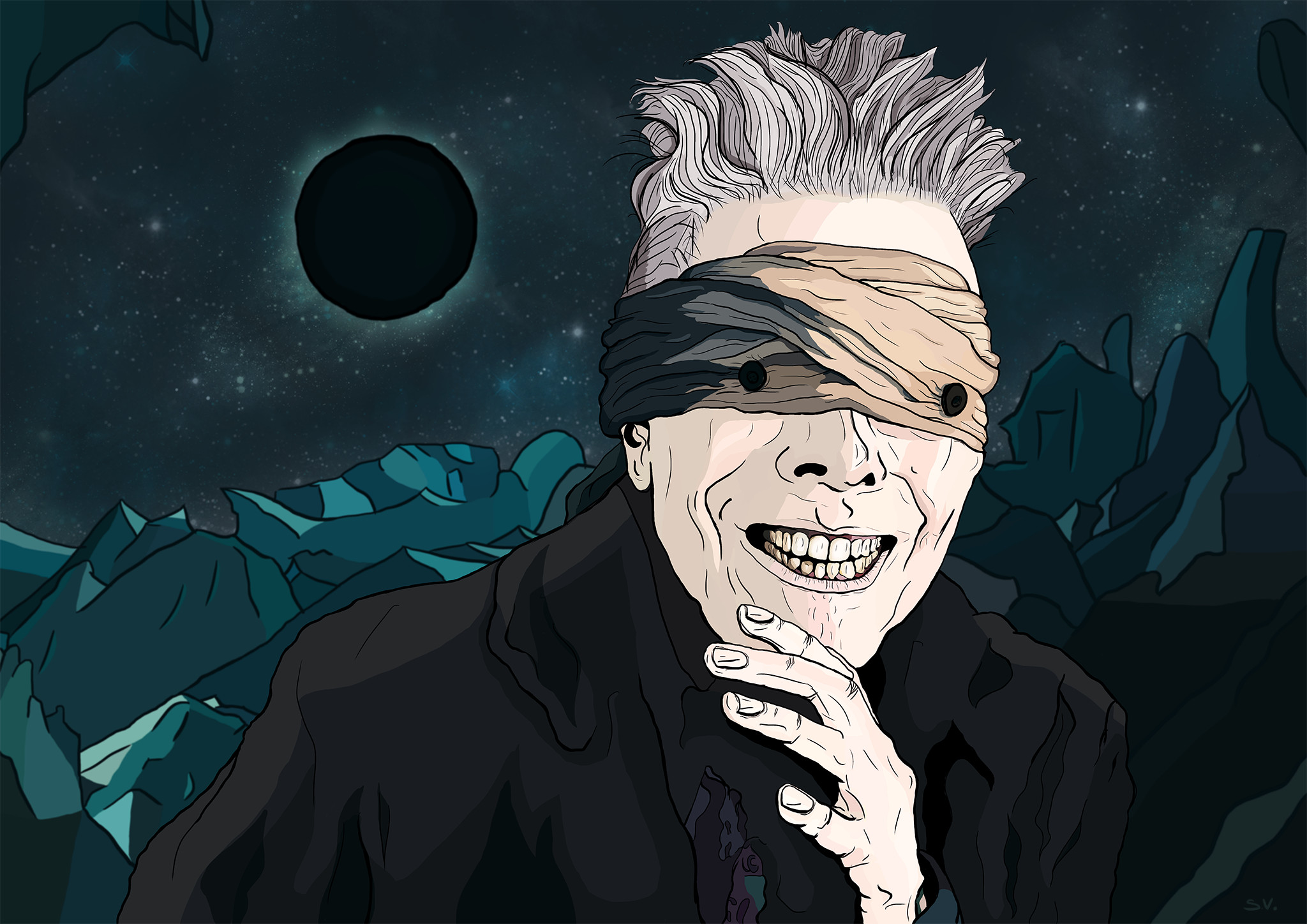 Res: 2048x1448, David Bowie Blackstar Picture On High Resolution Wallpaper