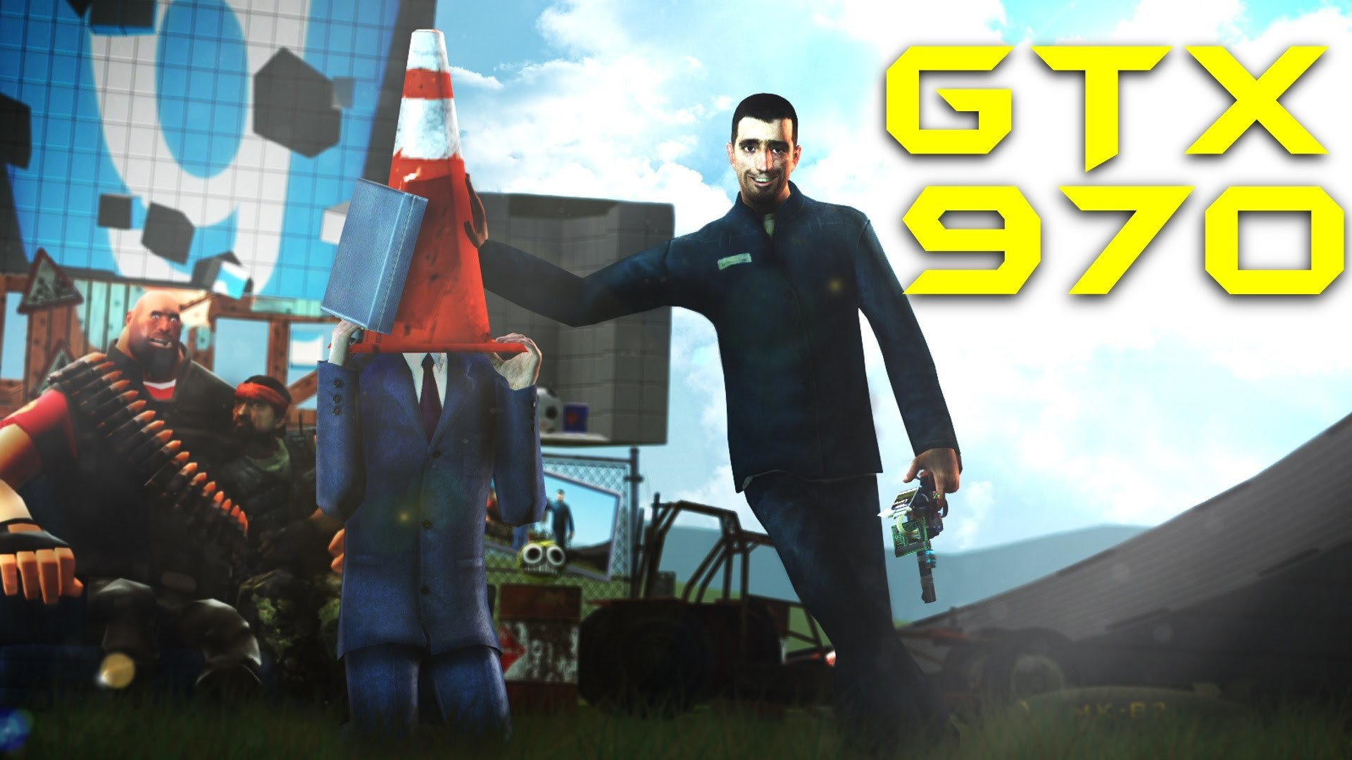 Res: 1920x1080, Garry's Mod GTX 970 OC & i5 3570k OC 4,2Ghz | 1080p Maxed Out | FRAME-RATE  TEST - YouTube