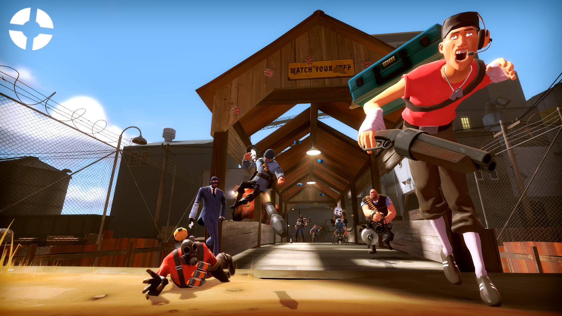 Res: 1920x1080, First Ever TF2 Wallpaper I've made using Garrys Mod. Opinions?