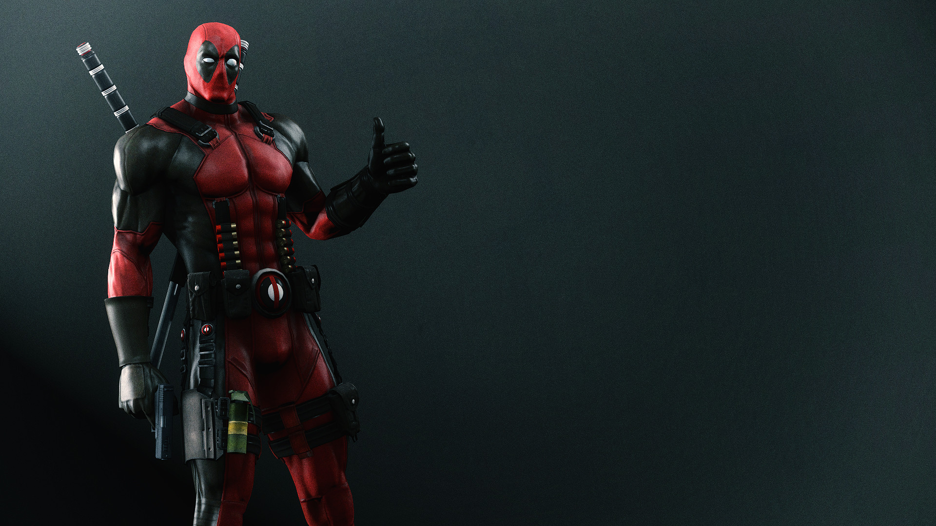 Res: 1920x1080, Deadpool Wallpaper by AngryRabbitGmoD Deadpool Wallpaper by AngryRabbitGmoD