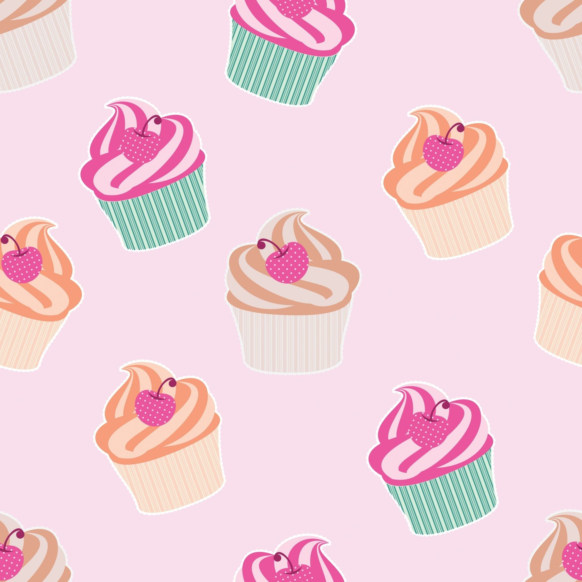 Res: 1920x1920, Cute Cupcake Backgrounds Wallpaper